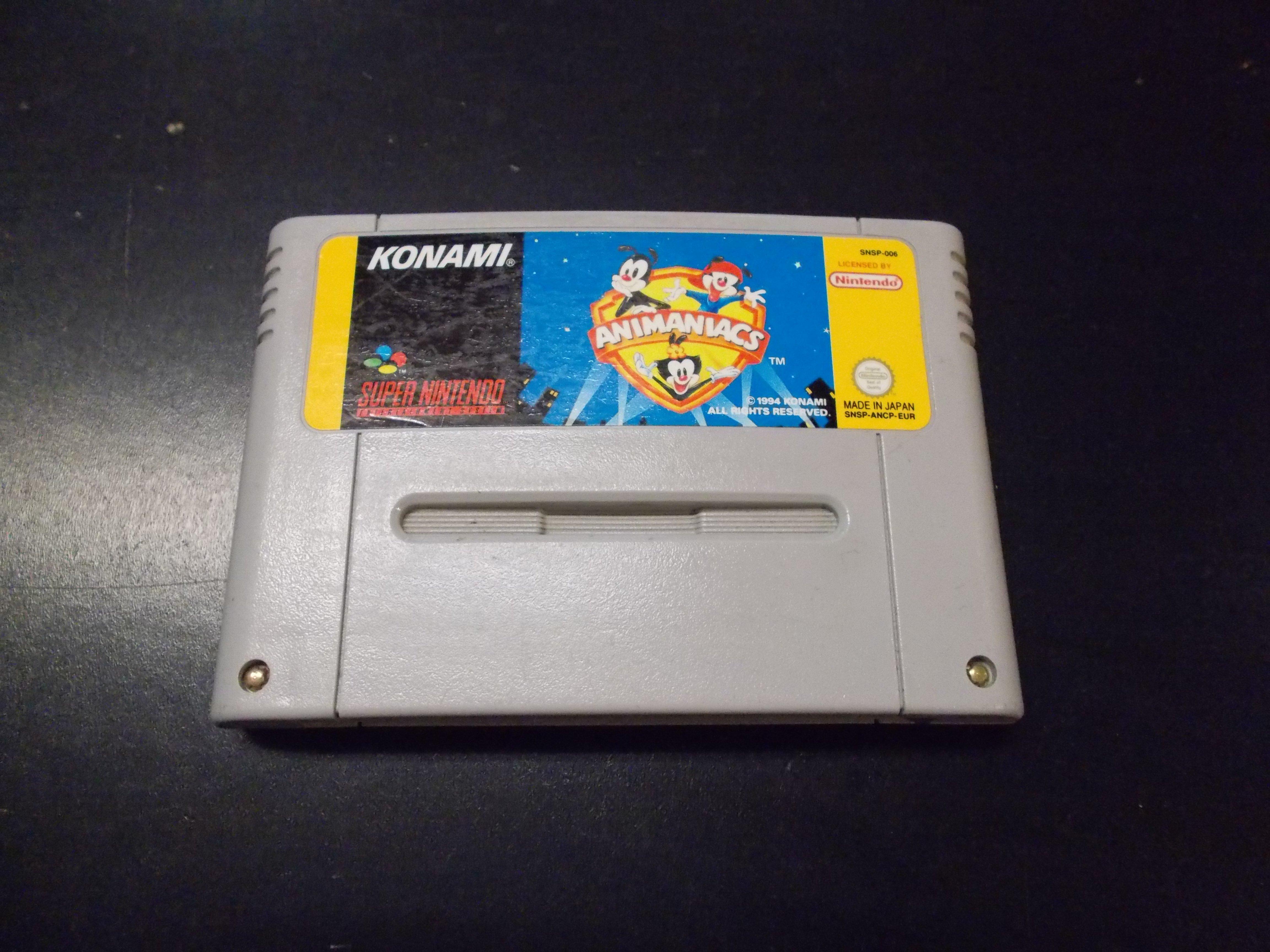 Animaniacs - GRA Nintendo SNES Opole 0166
