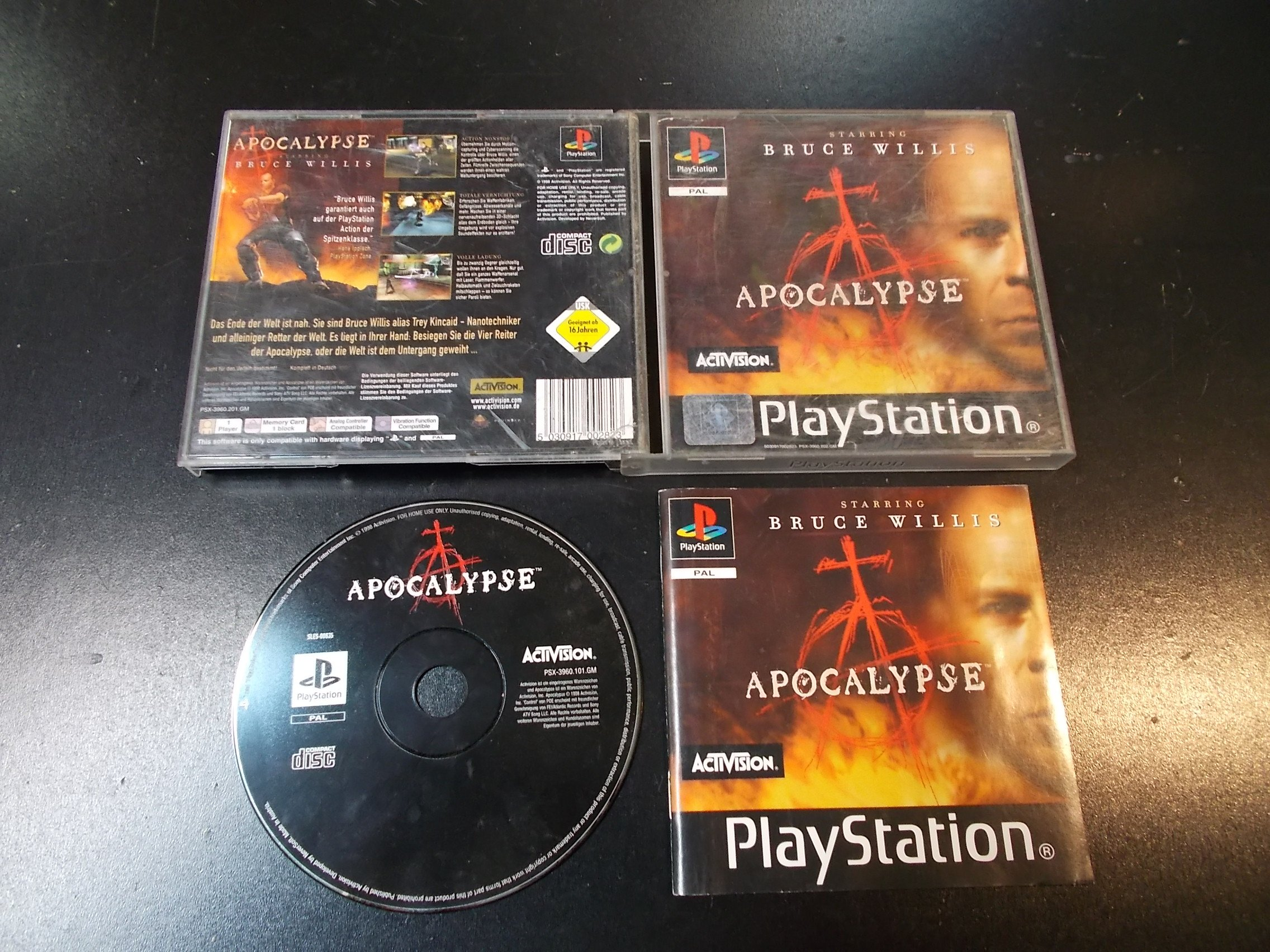 Apocalypse - GRA Psx Ps1 Sklep