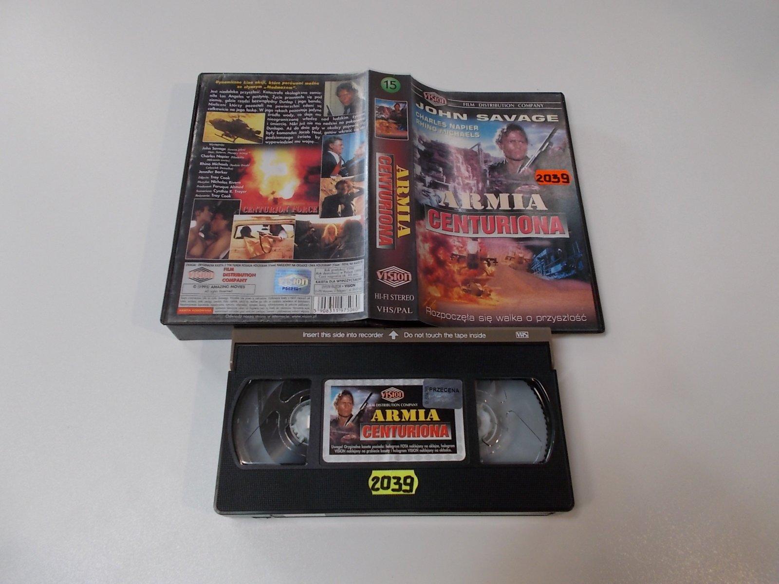 Armia Centuriona - VHS Kaseta Video - Opole 1669
