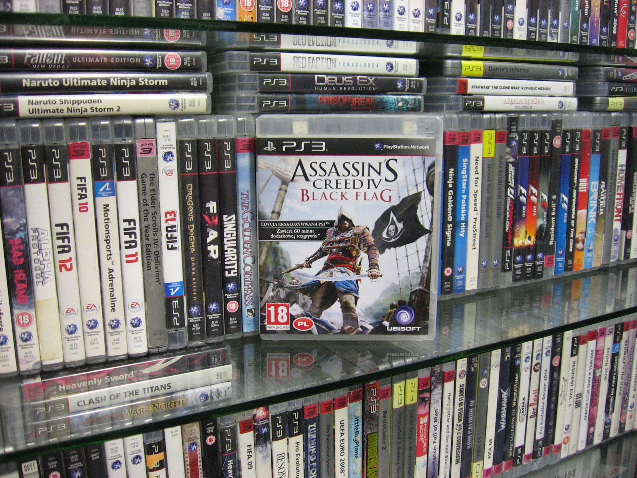 Assassin s Creed IV 4 Black Flag PL - GRA PS3 Sklep