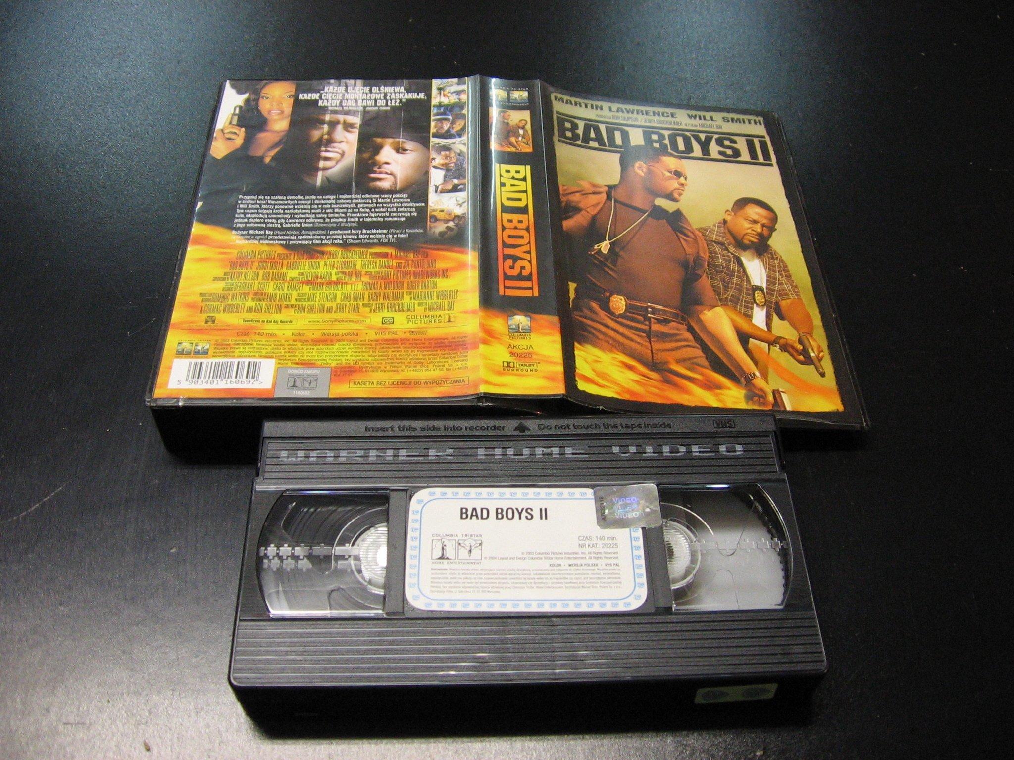 BAD BOYS 2 -  kaseta VHS - 1070 Opole - AlleOpole.pl