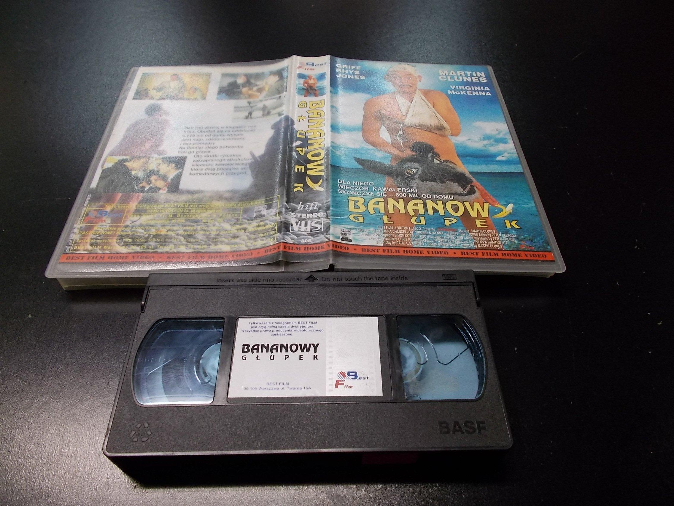 BANANOWY GŁUPEK -  kaseta VHS - 1171 Opole - AlleOpole.pl