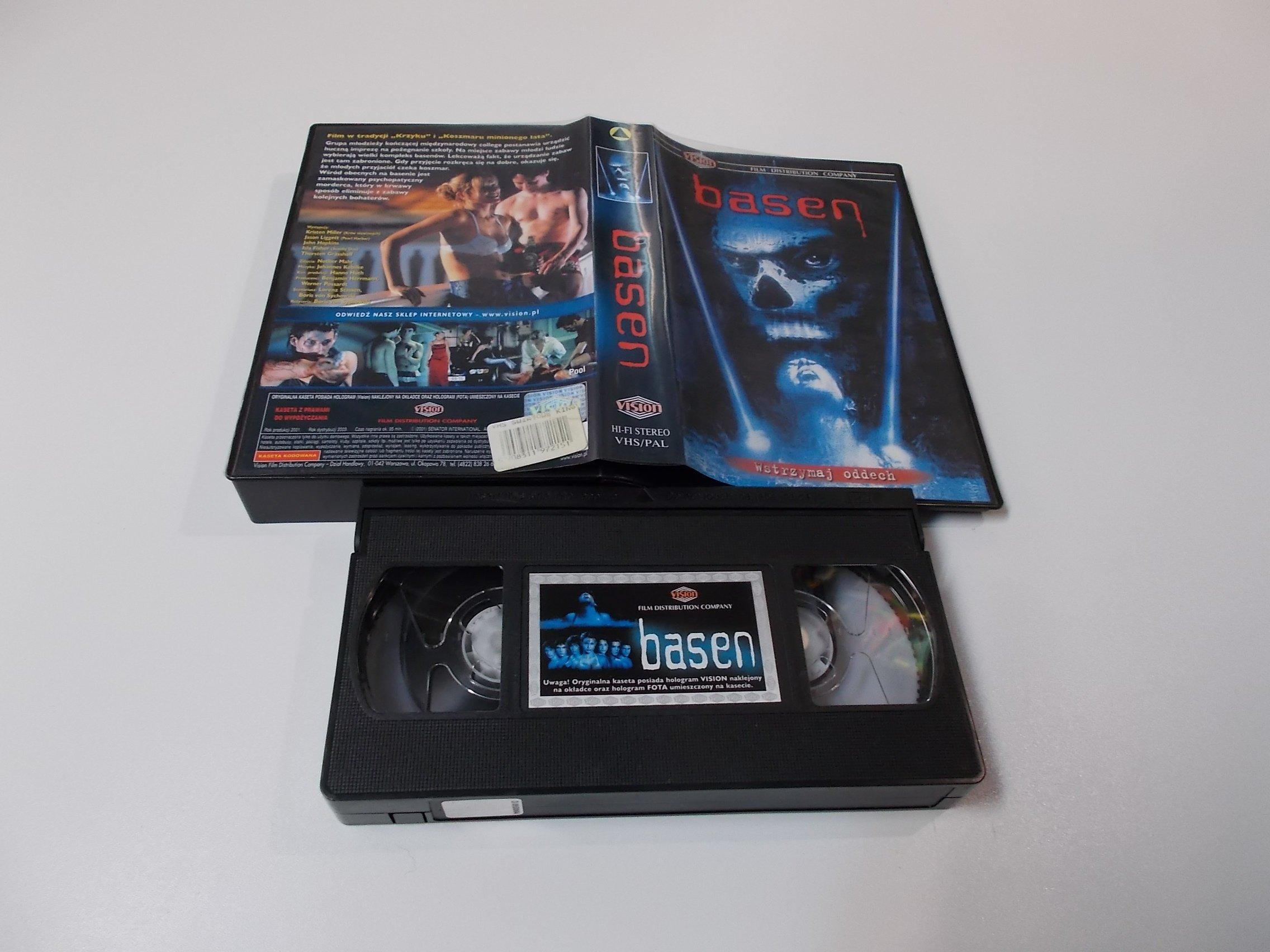 BASEN - VHS Kaseta Video - Opole 1629