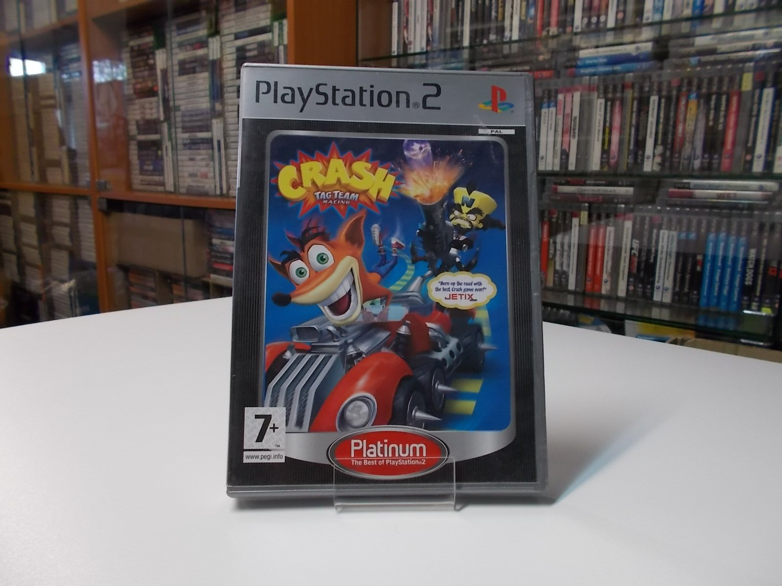 Crash Tag Team Racing - GRA Ps2 - Opole 0518