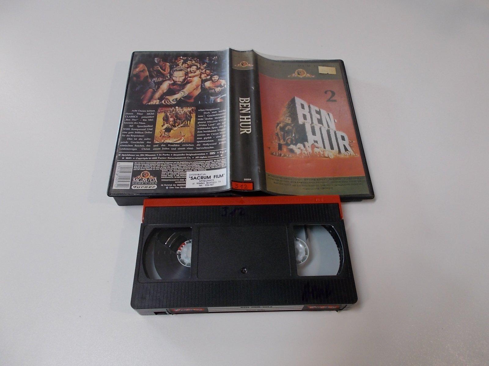 BEN HUR - VHS Kaseta Video - Opole 1673