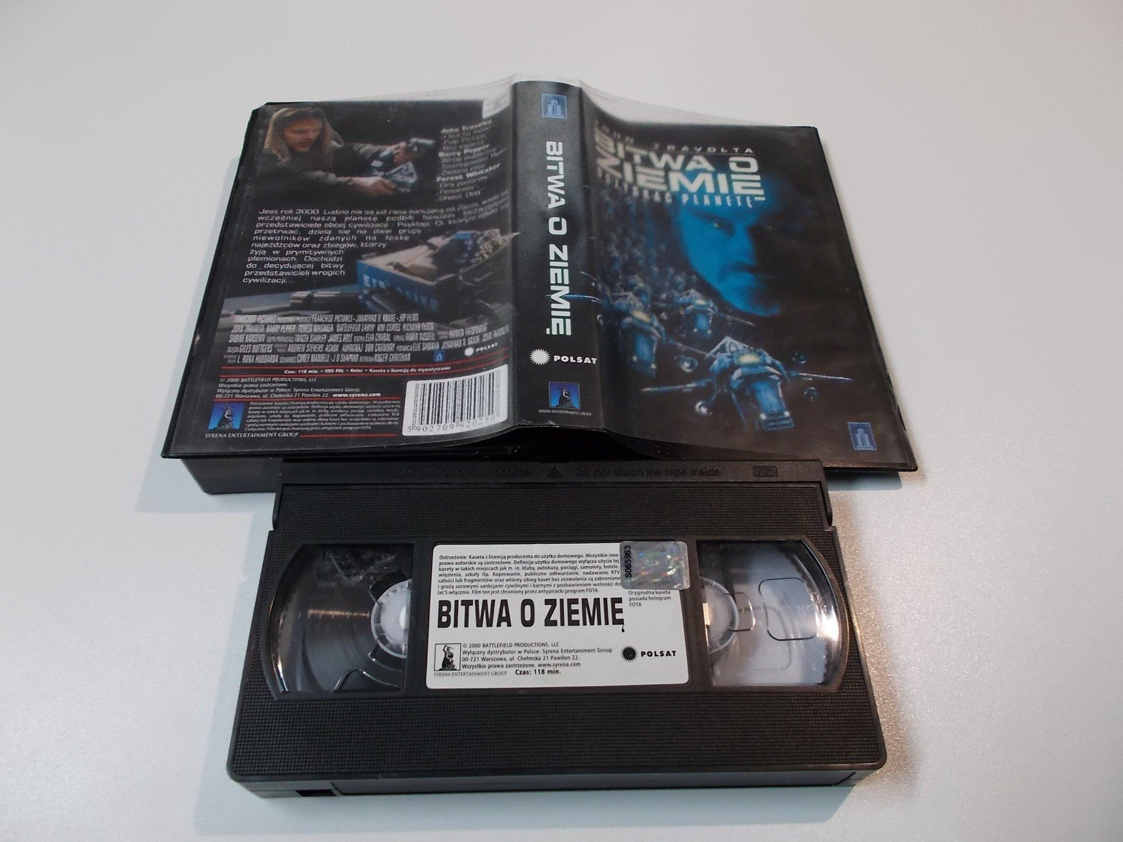 BITWA O ZIEMIĘ - kaseta Video VHS - 1460 Sklep