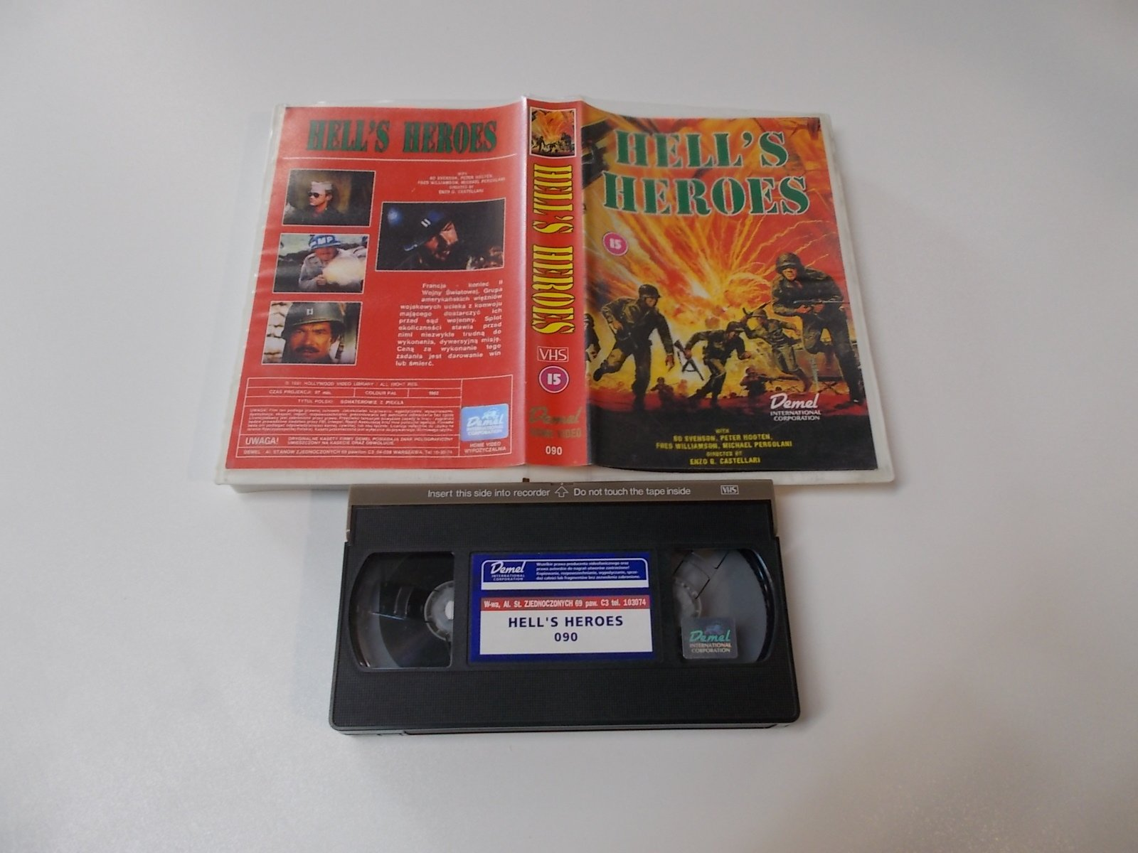 HELL'S HEROES - VHS Kaseta Video - Opole 1659