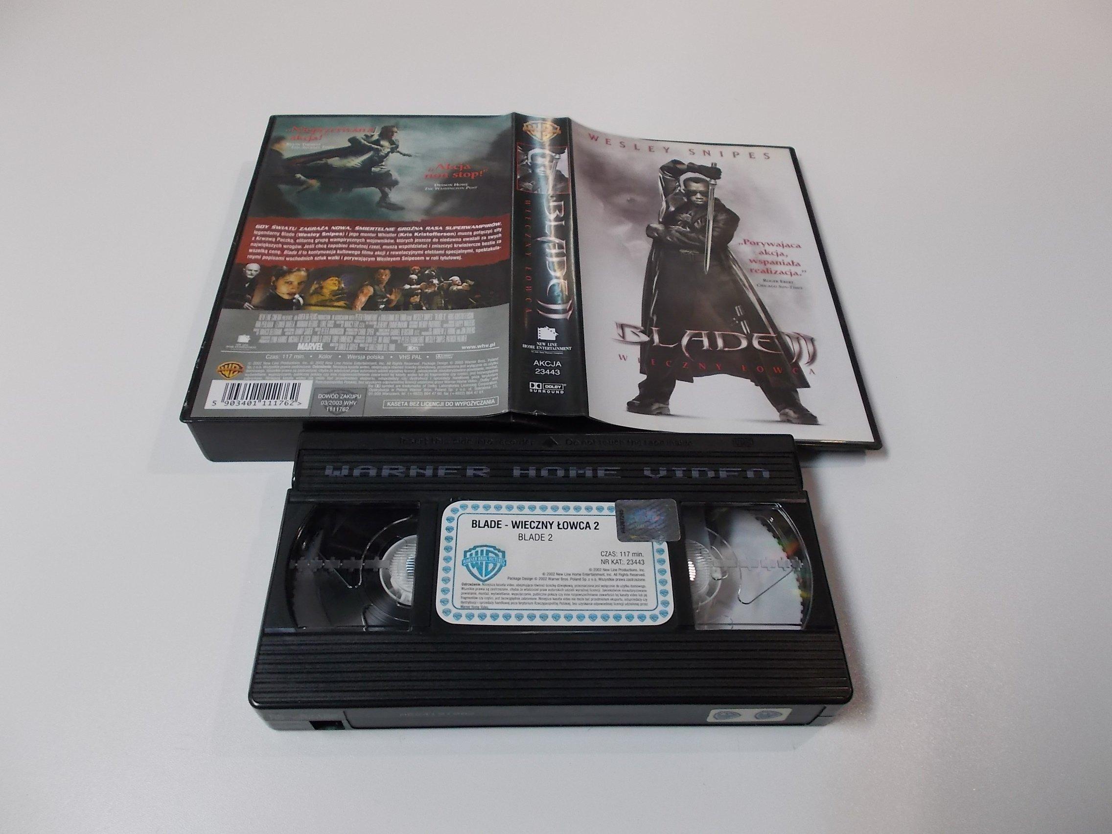 BLADE 2 - VHS Kaseta Video - Opole 1627