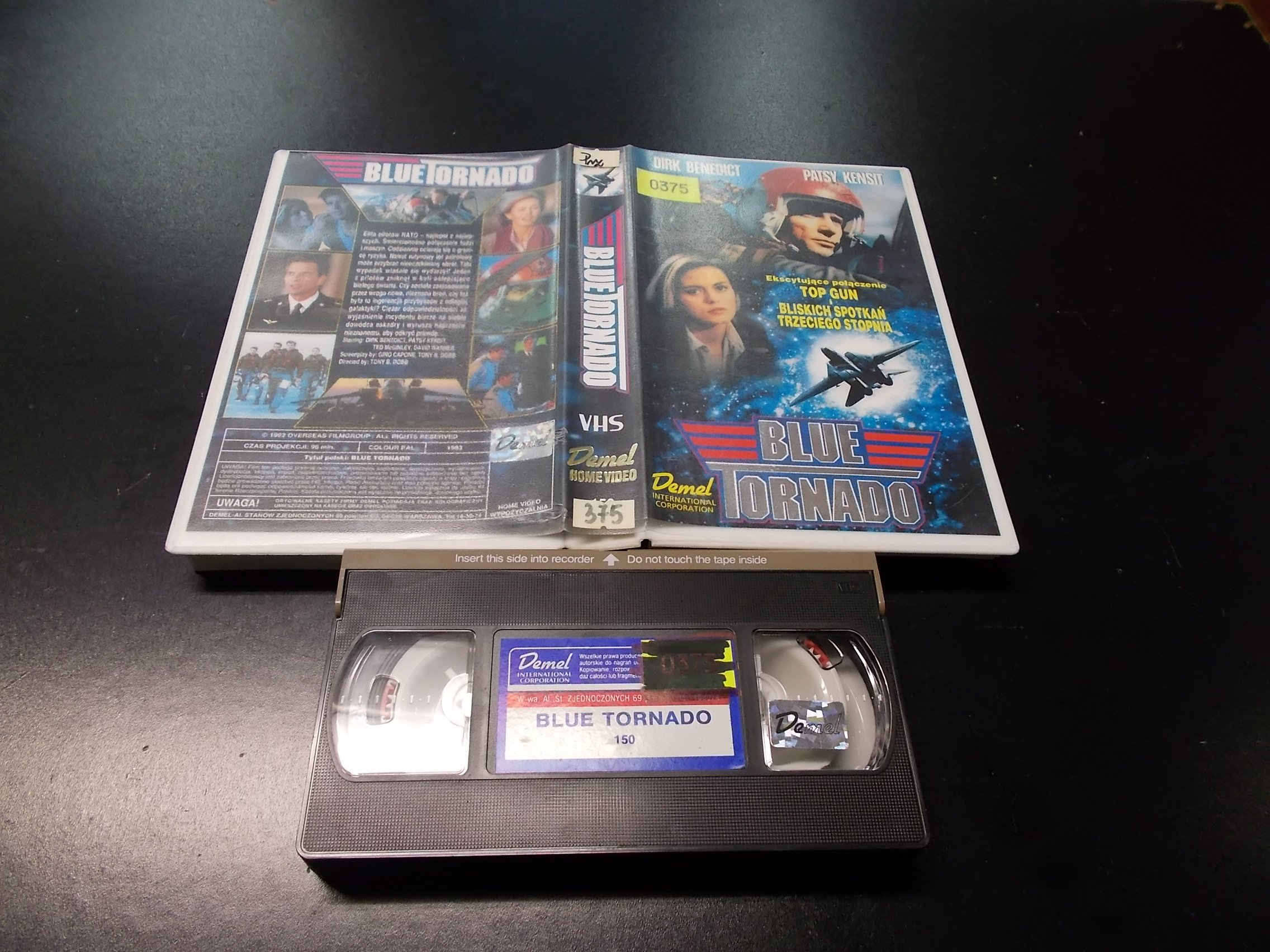 BLUE TORNADO -  kaseta VHS - 1228 Opole - AlleOpole.pl