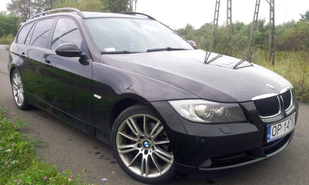 BMW 318d E91 2007 r touring, diesel,E90 kombi,