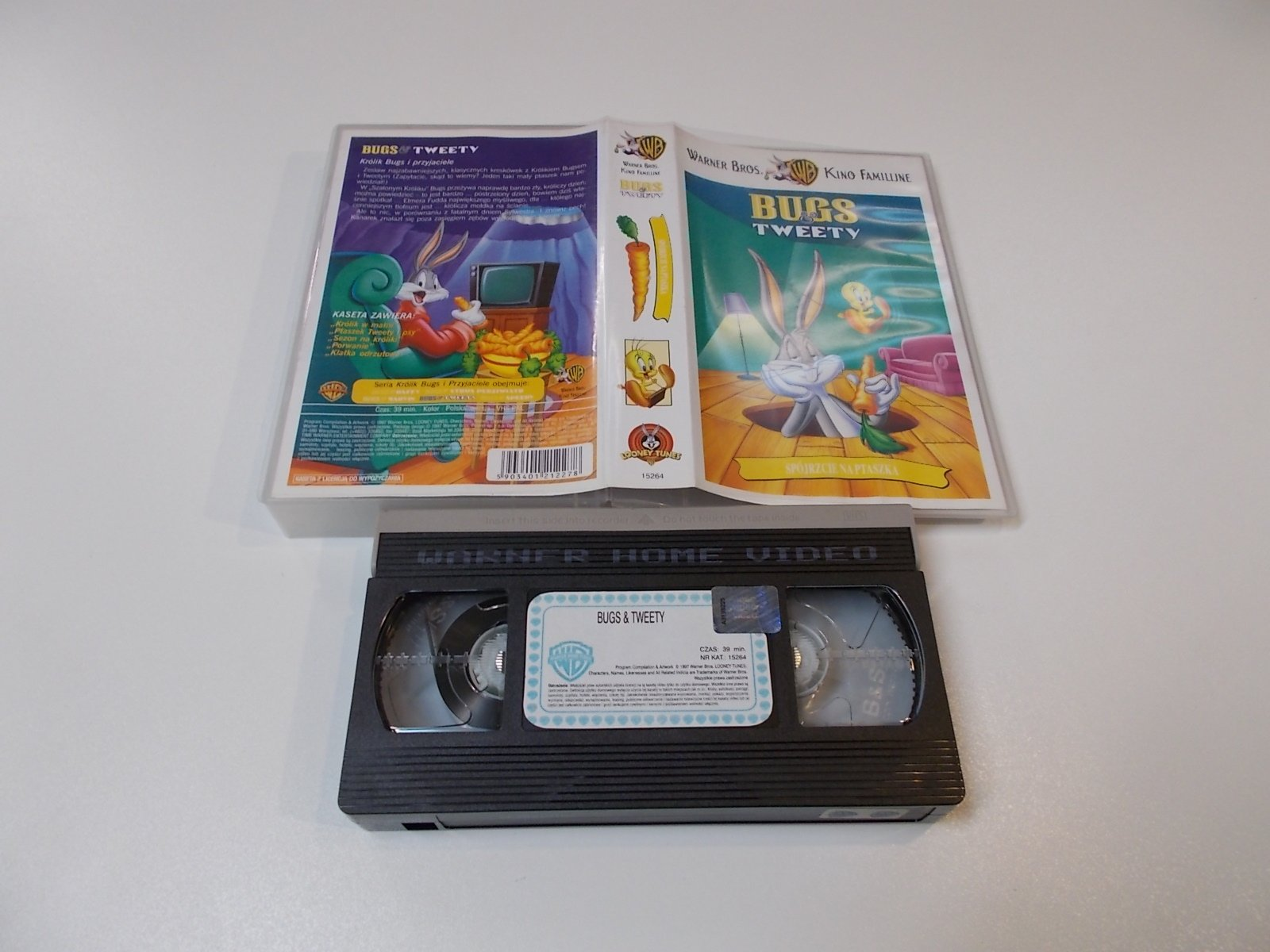 BUGS TWEETY - VHS Kaseta Video - Opole 1677