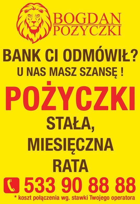 Bank Ci odmówił? U nas masz szansę !!! Różne rodzaje pożyczek
