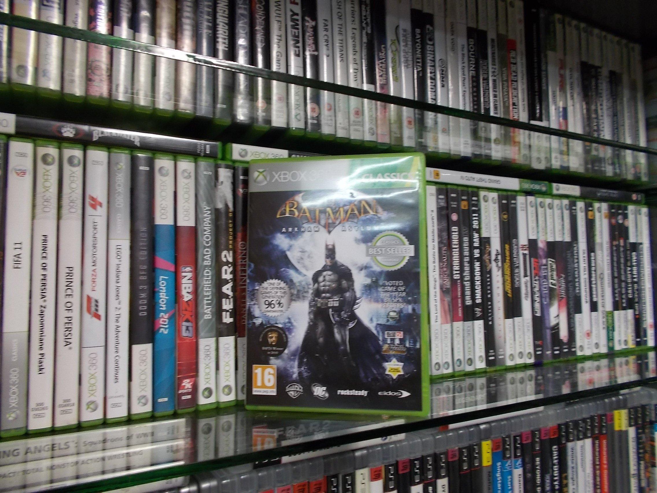 Batman Arkham Asylum - GRA XBOX 360 Sklep