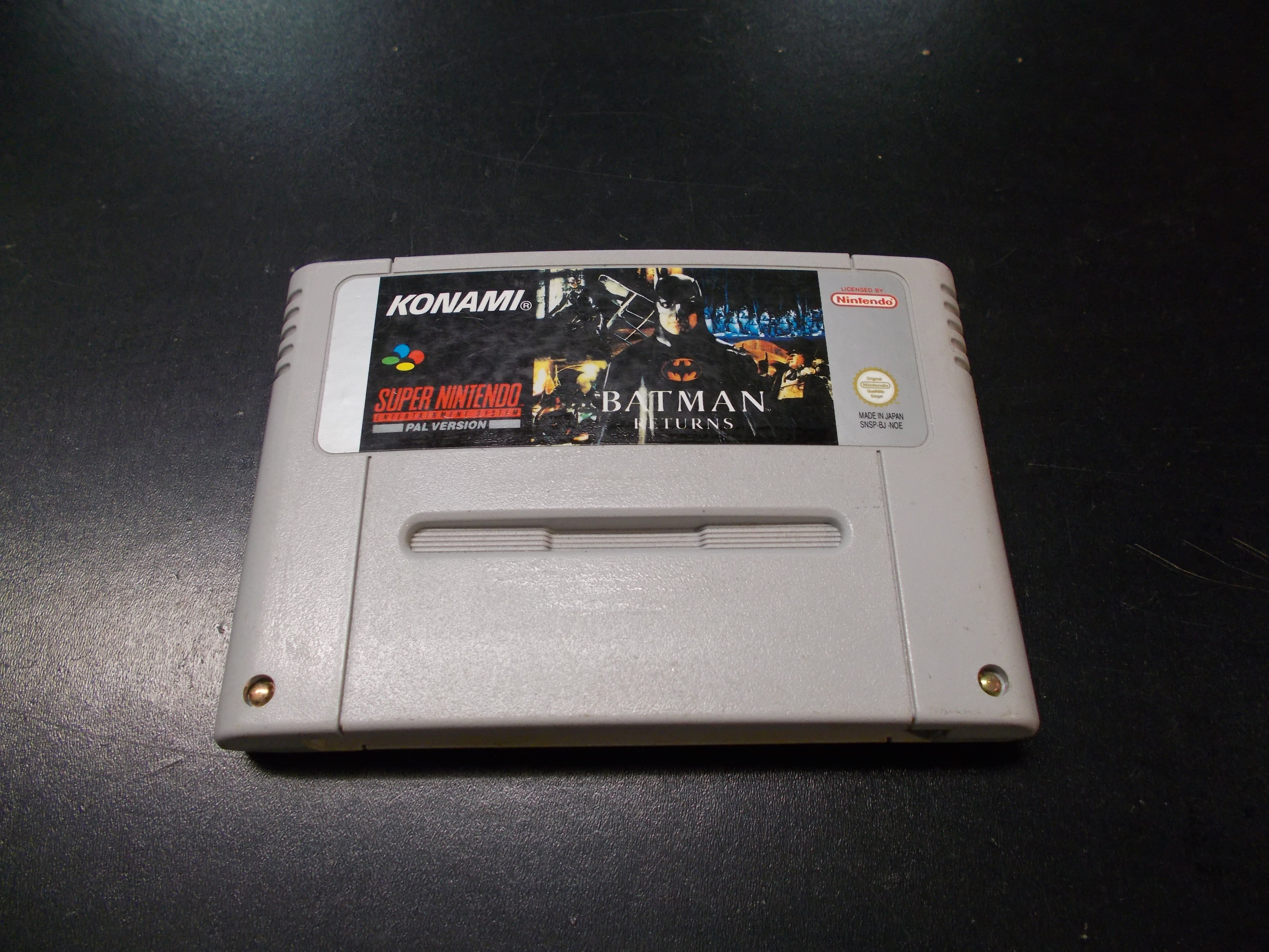 Batman Returns - GRA Nintendo SNES Opole 0145