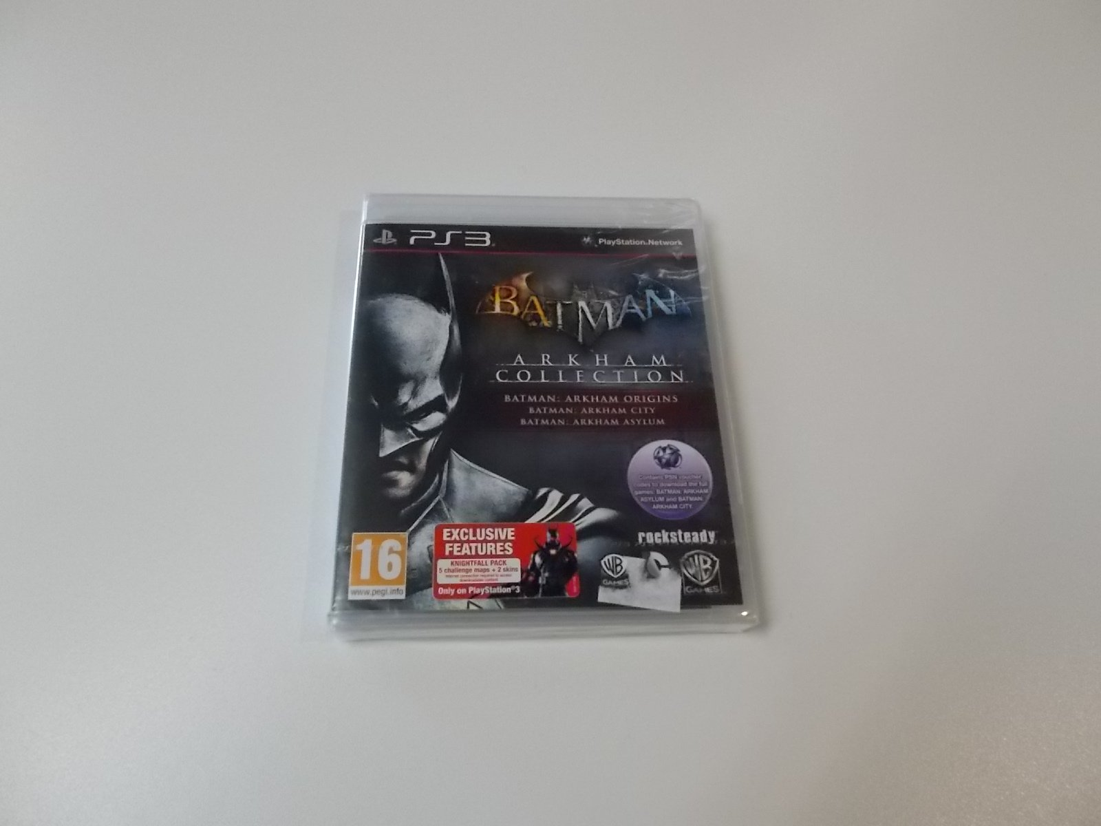 Batman arkham collection - GRA Ps3 - Opole 0447
