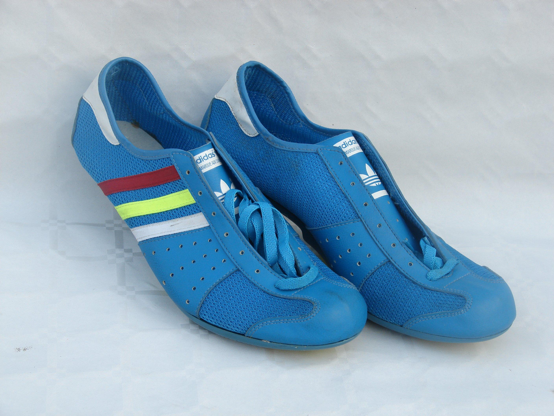 Buty kolarskie vintage Adidas Giro Bleu