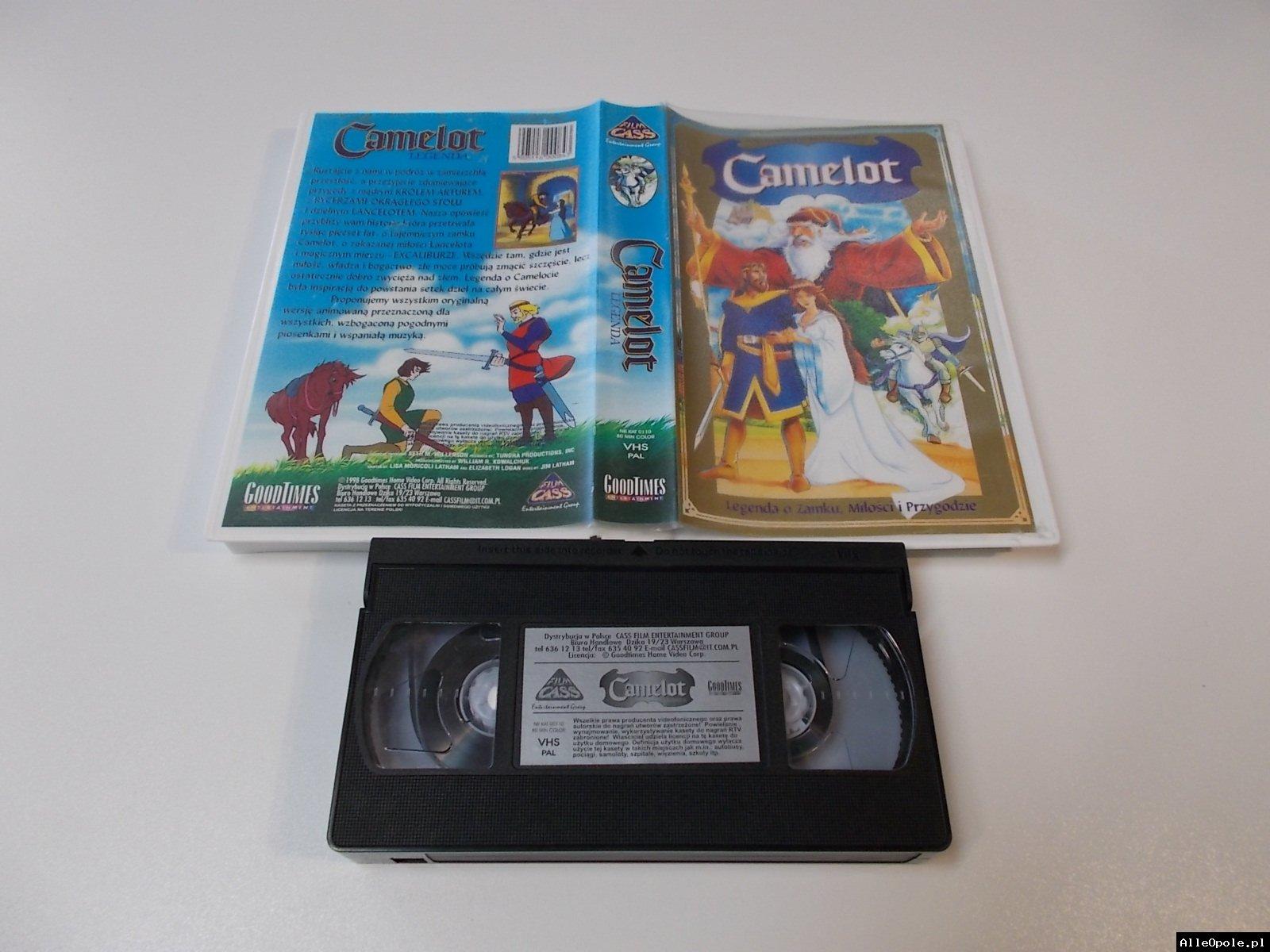 CAMELOT - VHS Kaseta Video - Opole 1701