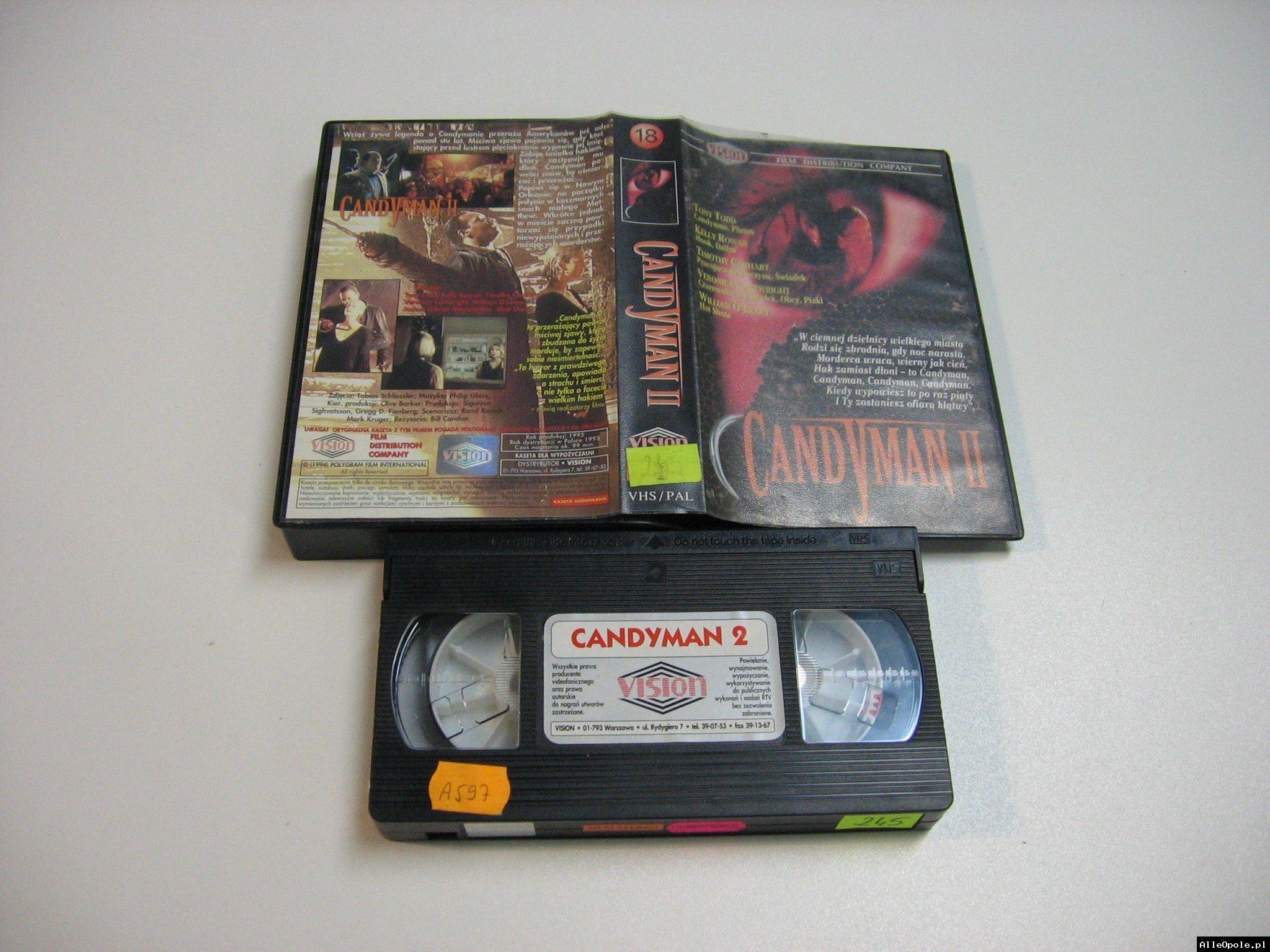 CANDYMAN 2 - VHS Kaseta Video - Opole 1845