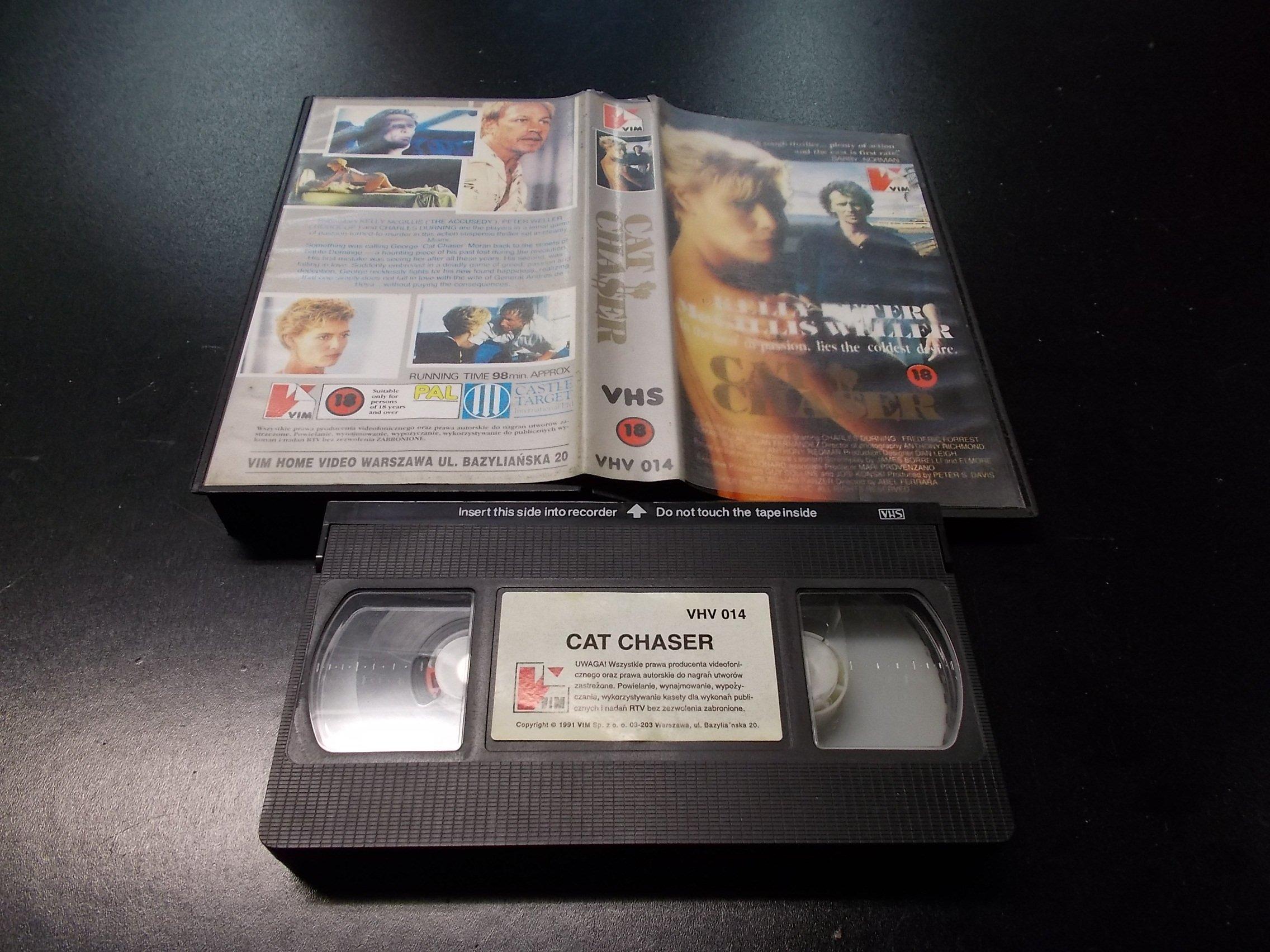 CAT CHASER -  kaseta VHS - 1245 Opole - AlleOpole.pl