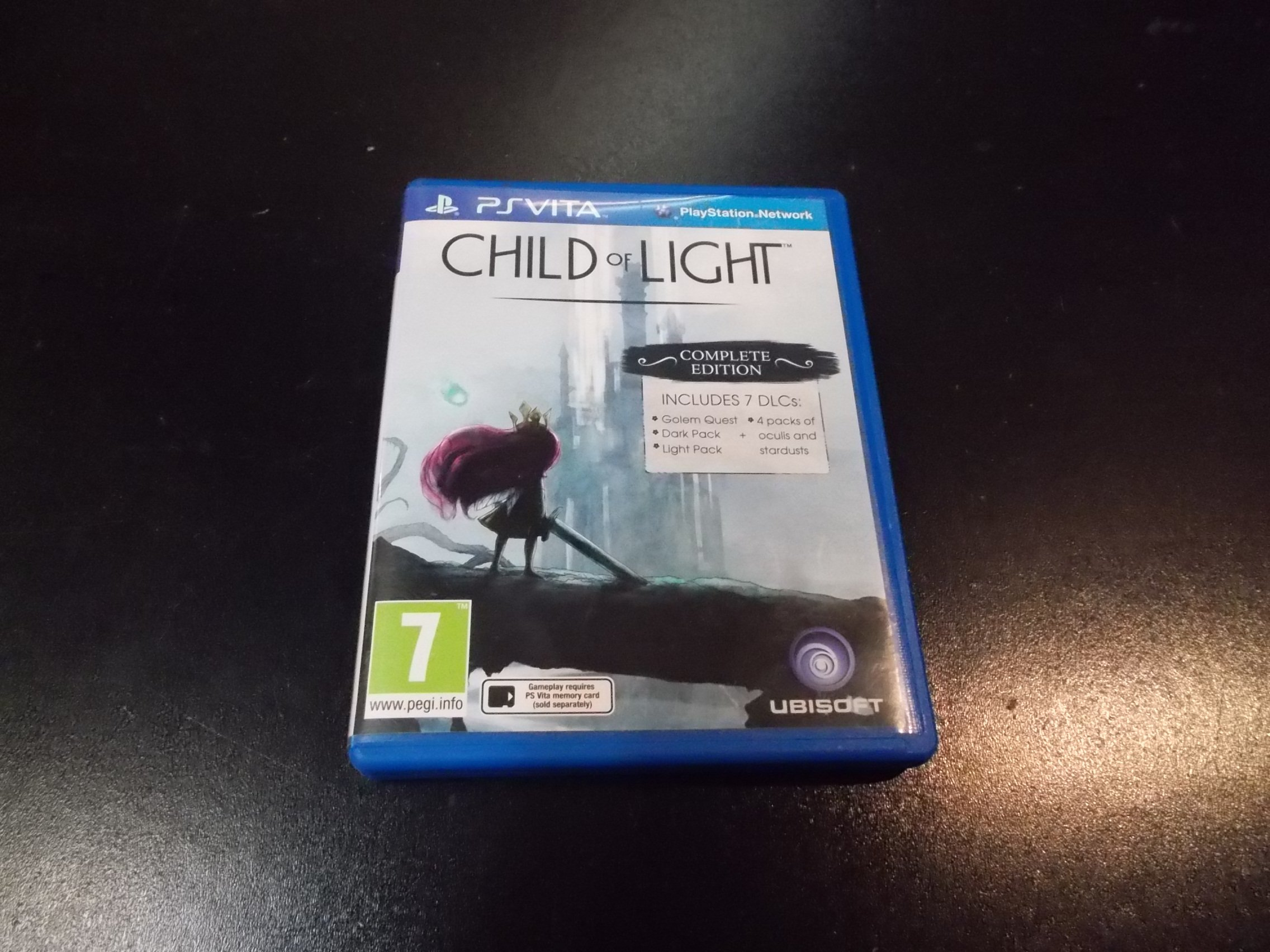CHILD OF LIGHT COMPLETE EDITION - GRA Ps Vita Sklep