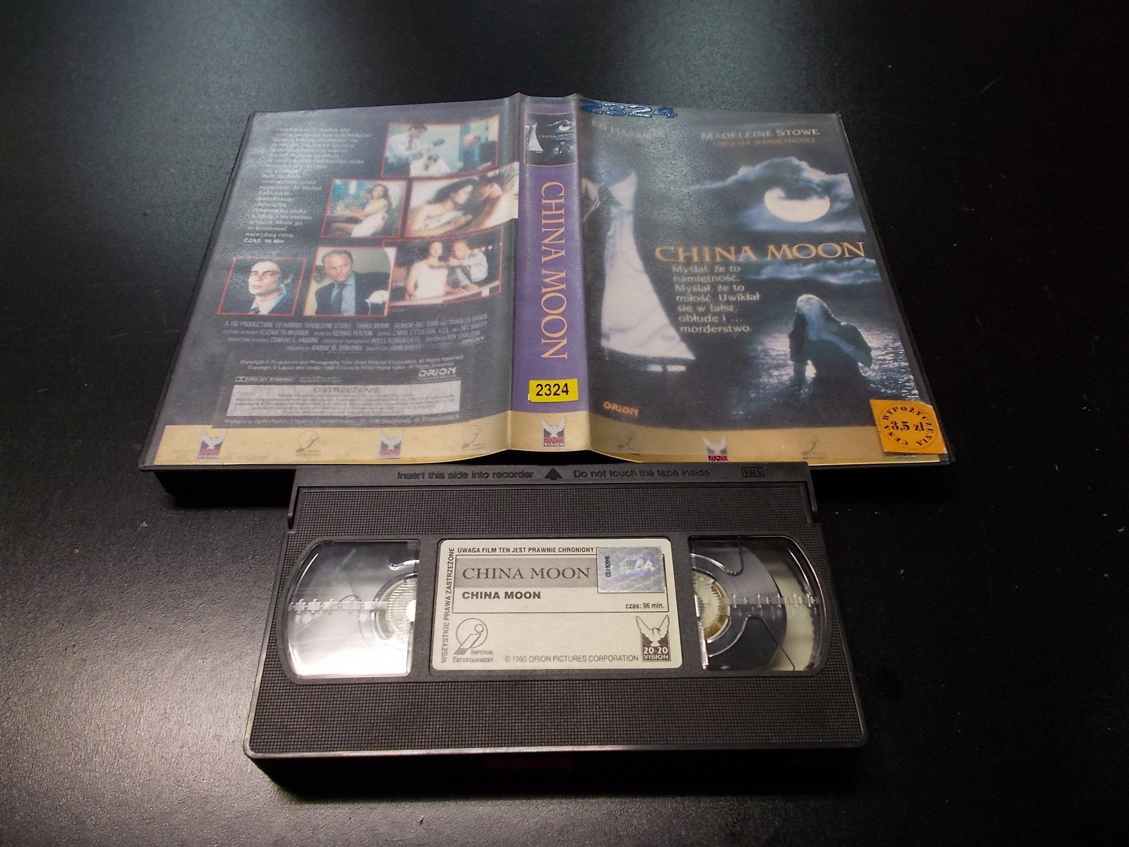 CHINA MOON -  kaseta VHS - 1163 Opole - AlleOpole.pl