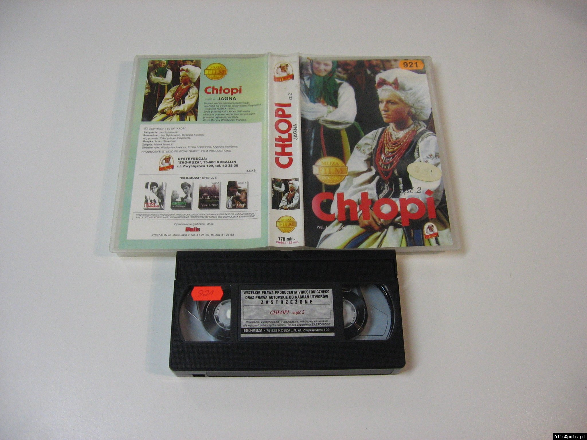 CHŁOPI 2 - VHS Kaseta Video - Opole 1781