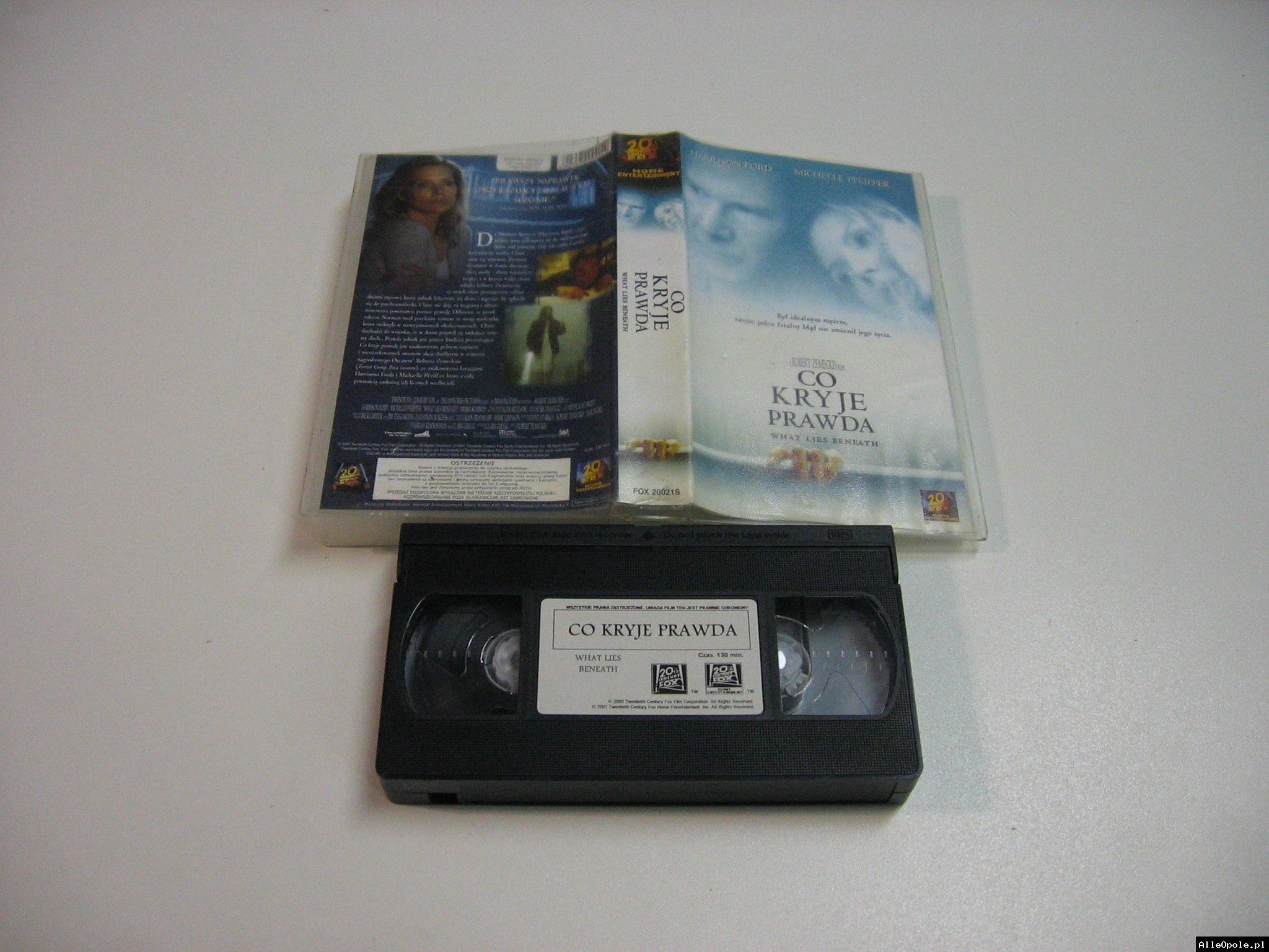CO KRYJE PRAWDA - VHS Kaseta Video - Opole 1844