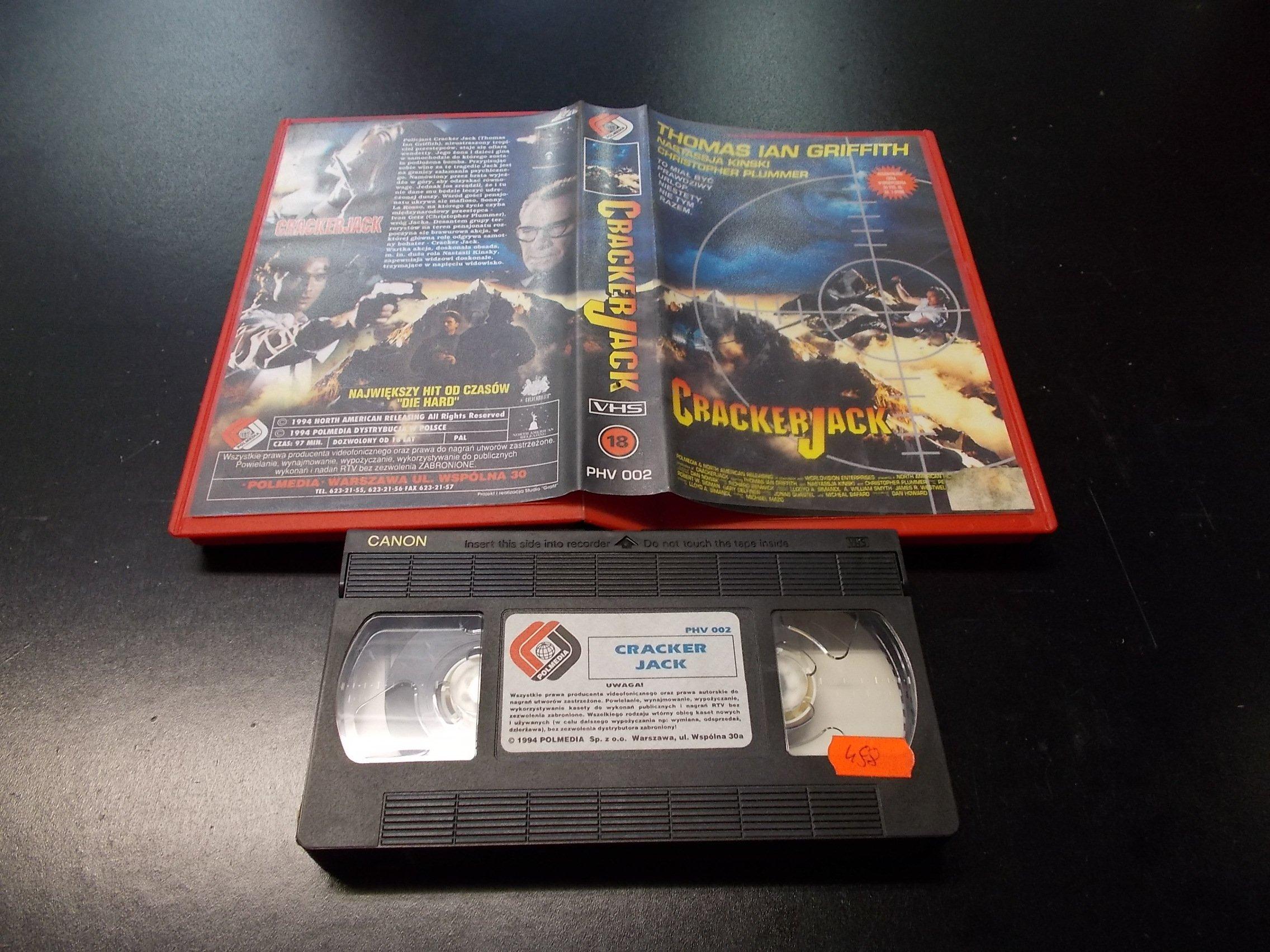 CRACKER JACK -  kaseta VHS - 1259 Opole - AlleOpole.pl