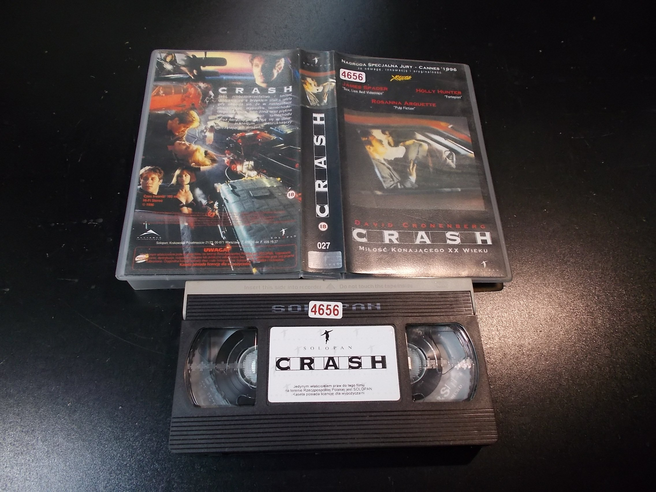 CRASH - kaseta Video VHS - 1363 Sklep