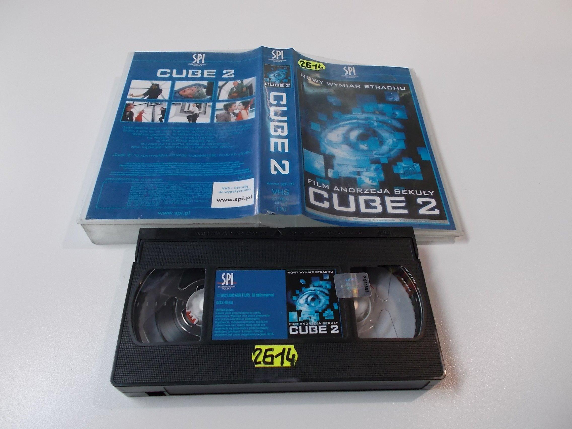 CUBE 2 - Kaseta Video VHS - Opole 1562