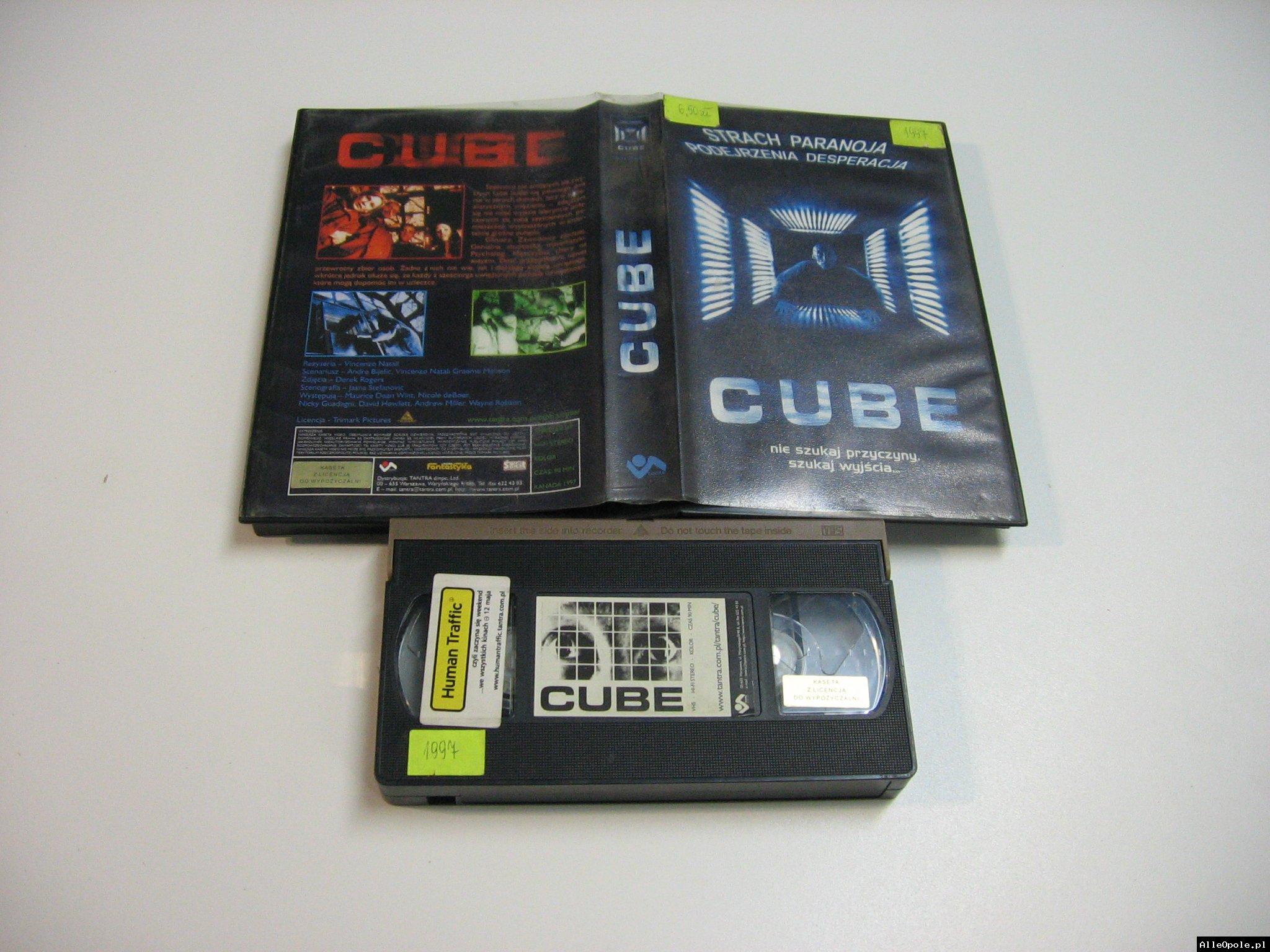 CUBE - VHS Kaseta Video - Opole 1824