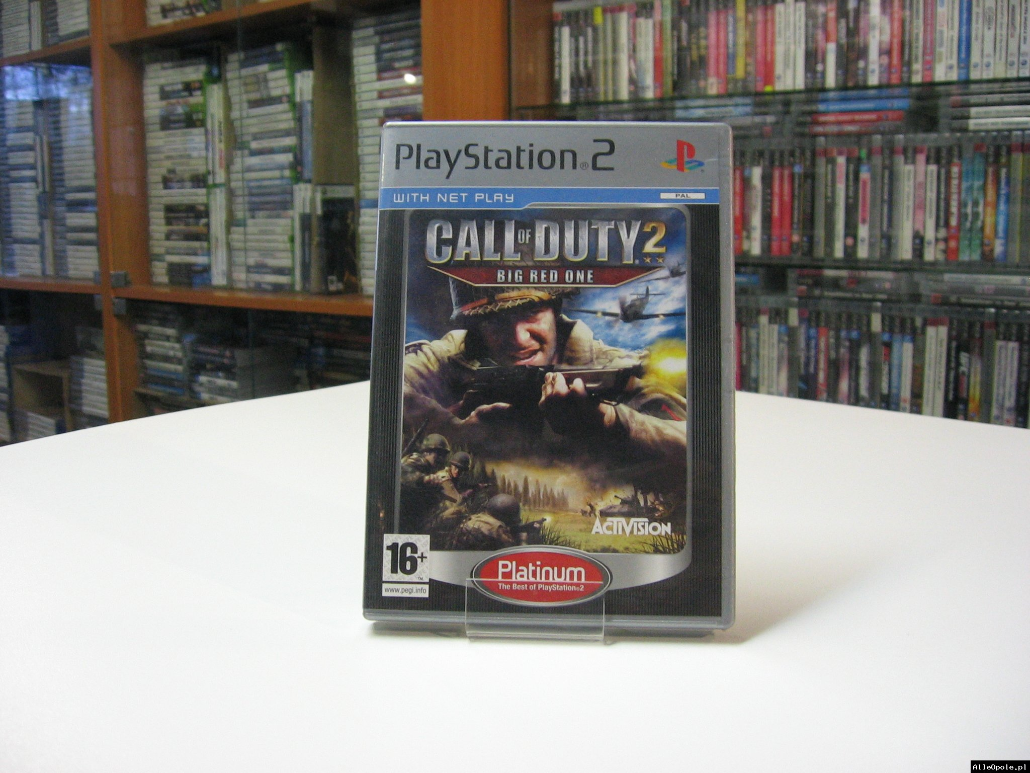 Call of Duty 2: Big Red One - GRA Ps2 - Opole 0595