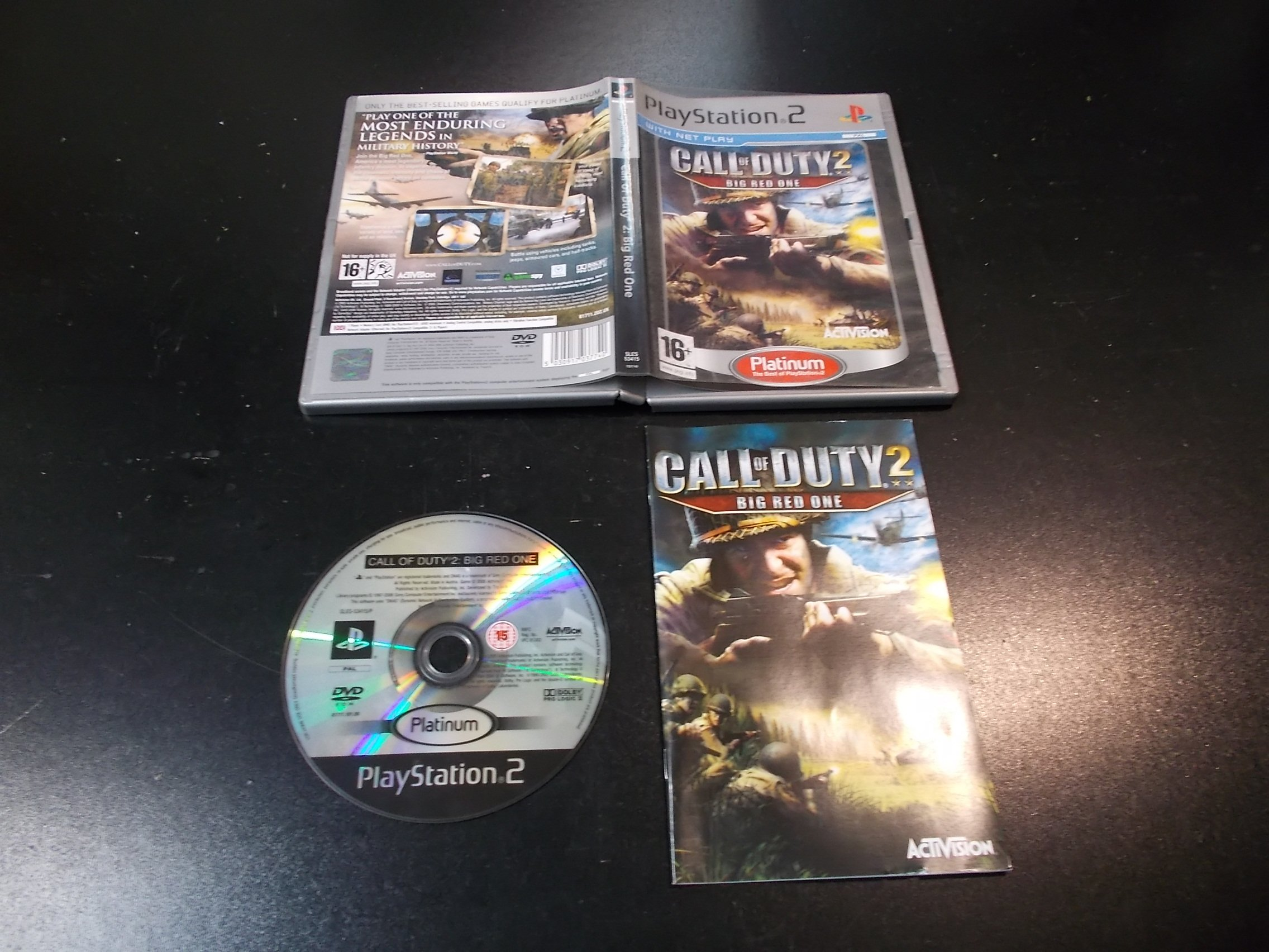 Call of Duty 2: Big Red One - GRA Ps2 - Sklep
