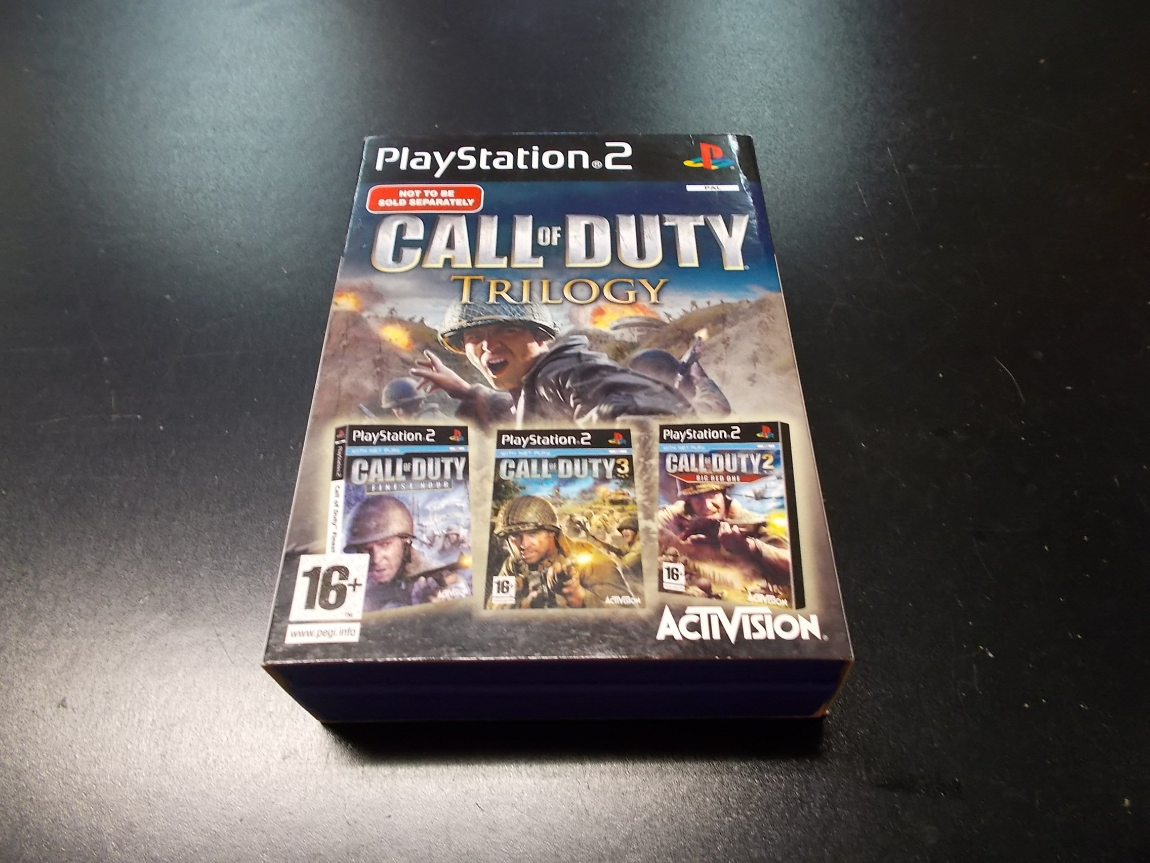 Call of Duty Trilogy - GRA PS2 Sklep
