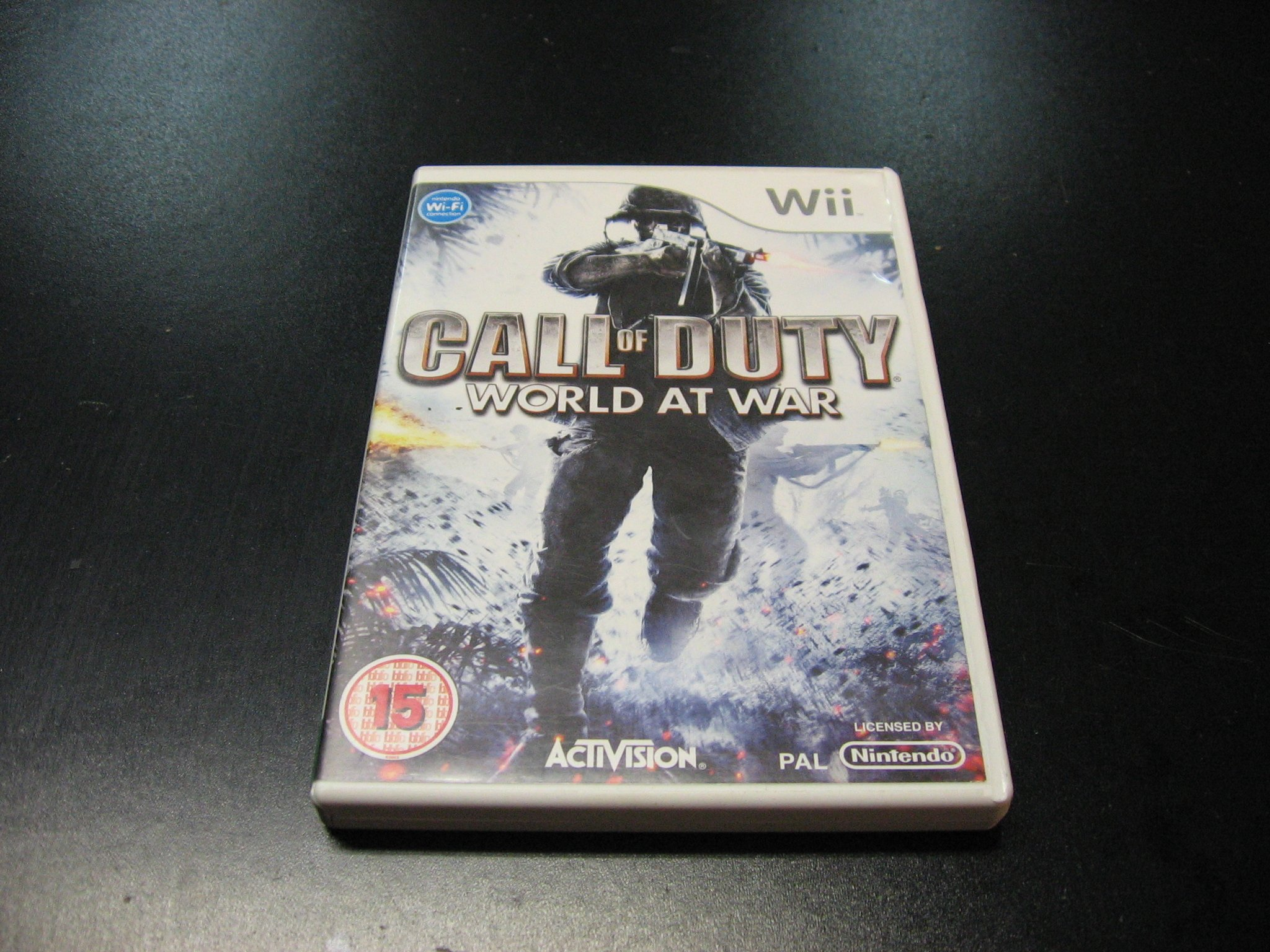 Call of Duty - World at War - GRA Nintendo Wii Sklep