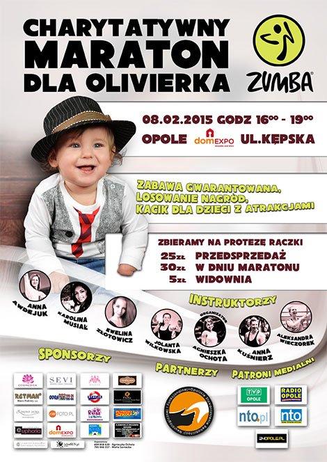 Charytatywny Maraton Zumba  Dla Olivierka w domEXPO Opole!