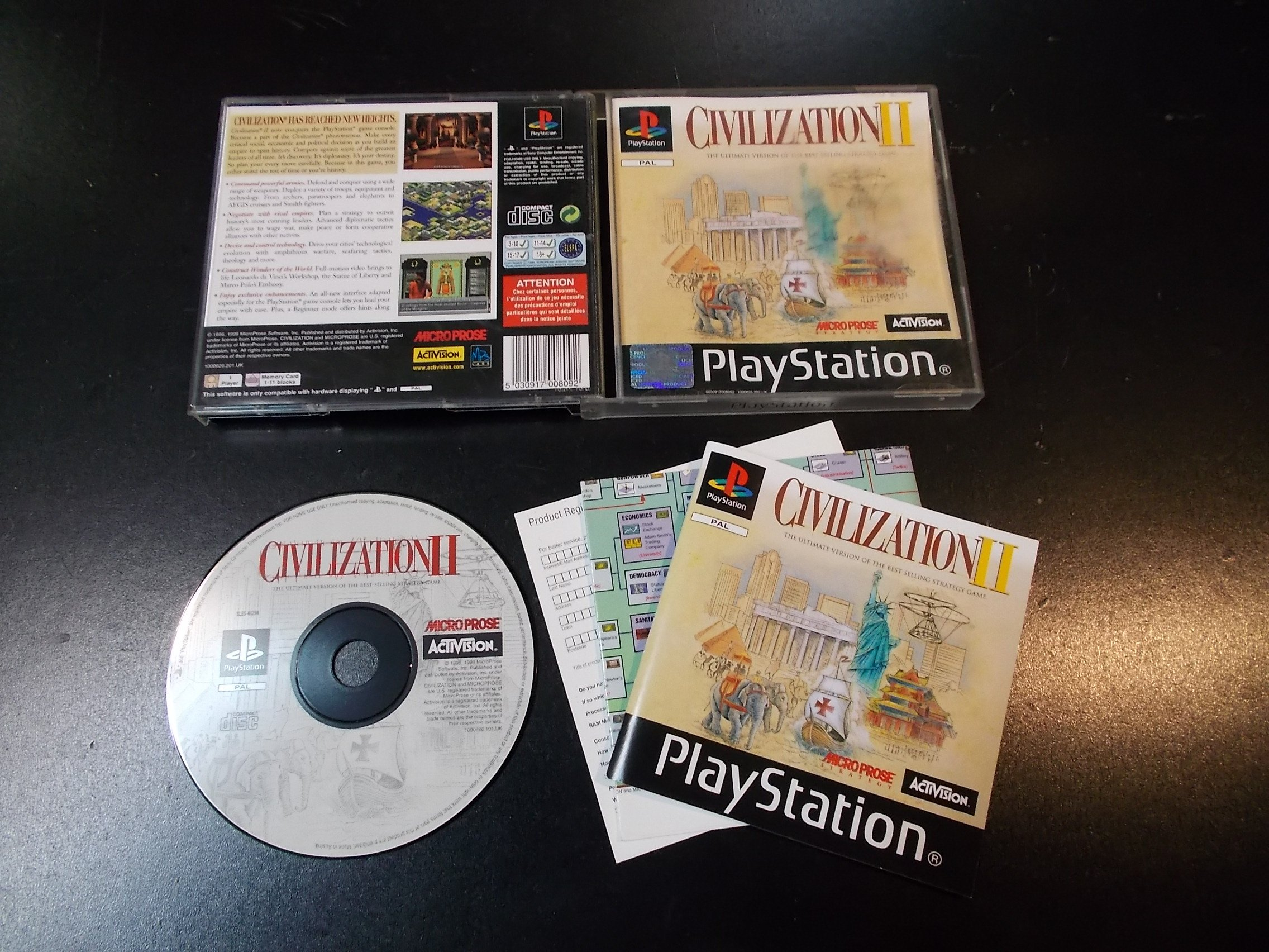 Civilization 2 - GRA Psx Ps1 Sklep