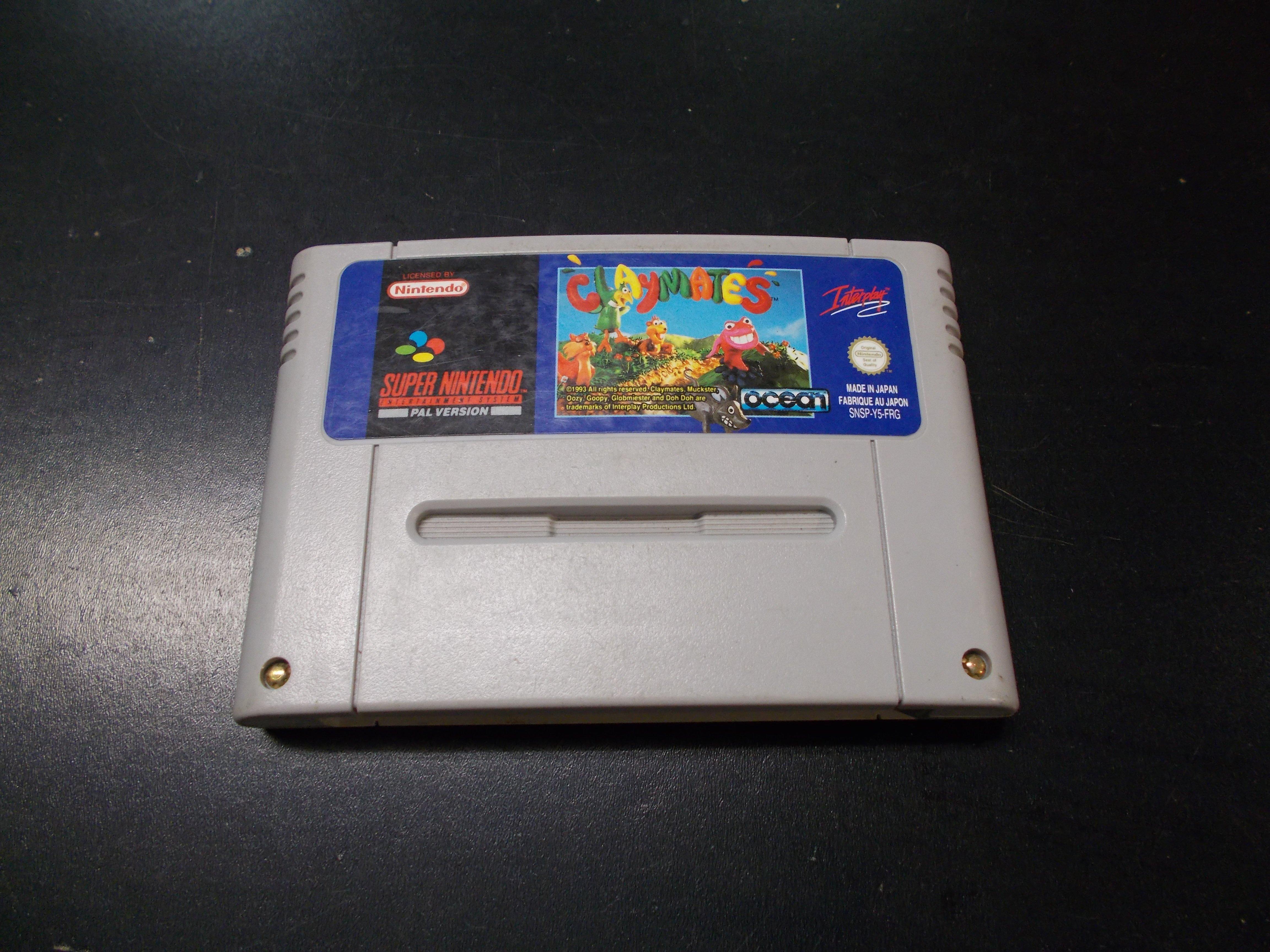 Claymates - GRA Nintendo SNES Opole 0160