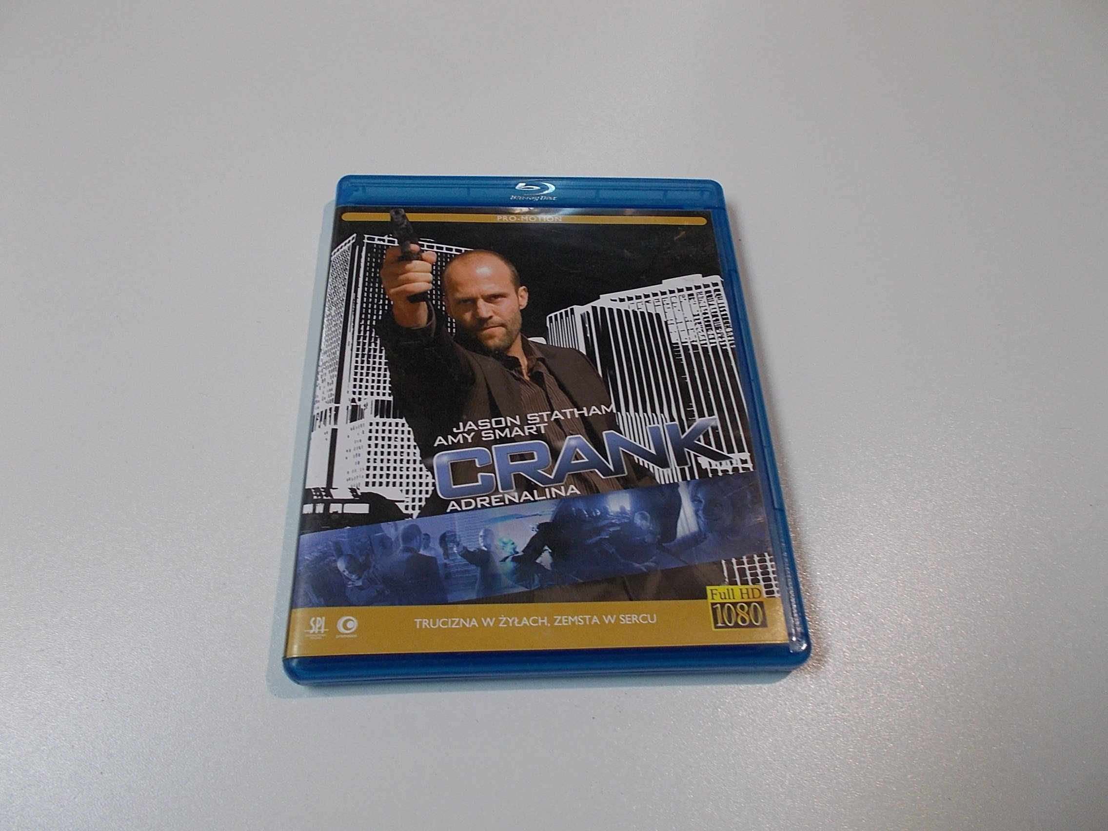 Crank - Adrenalina - Blu-ray - Sklep