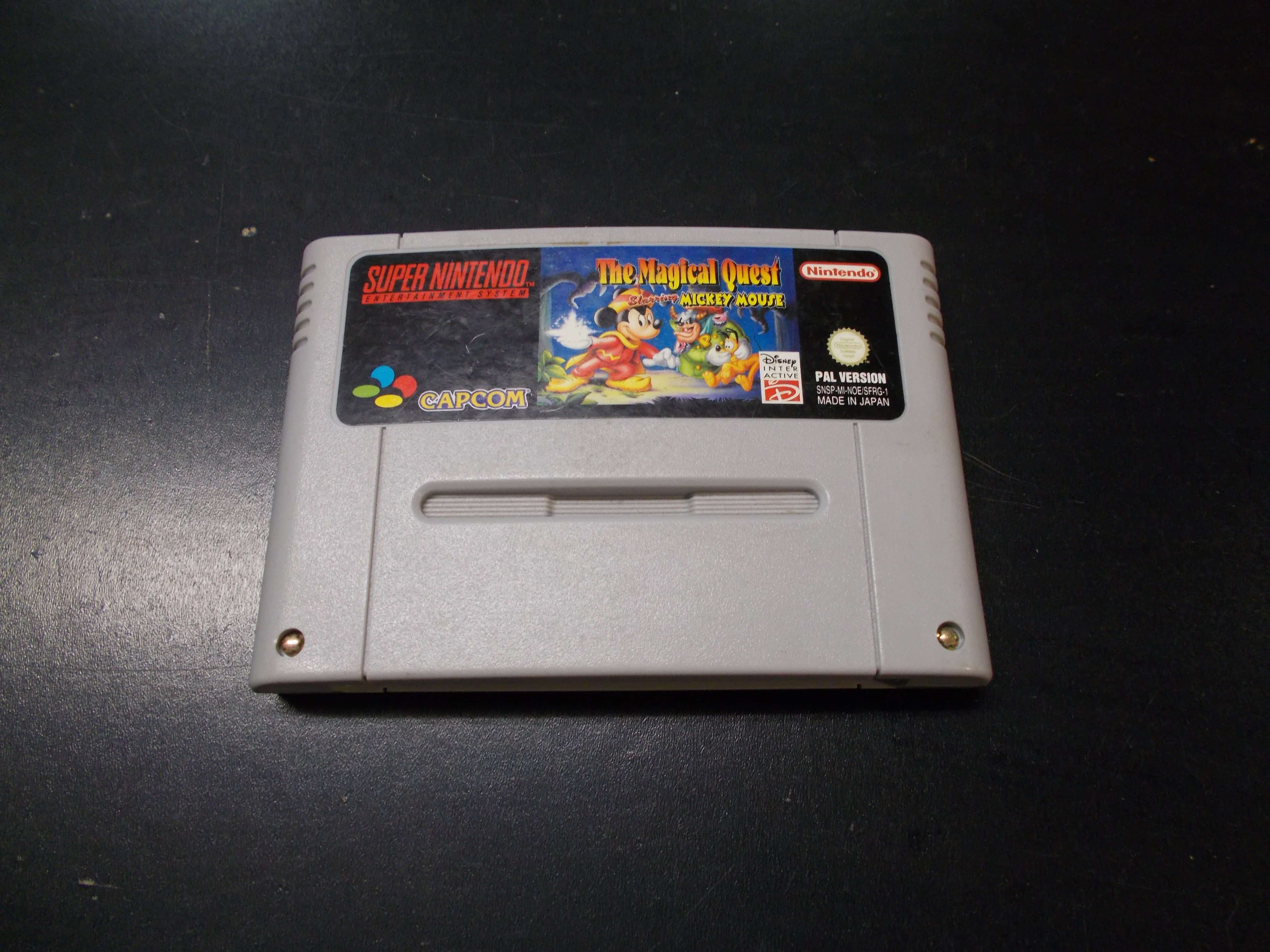 The Magical Quest starring Mickey Mouse - GRA Nintendo SNES Opole 0157