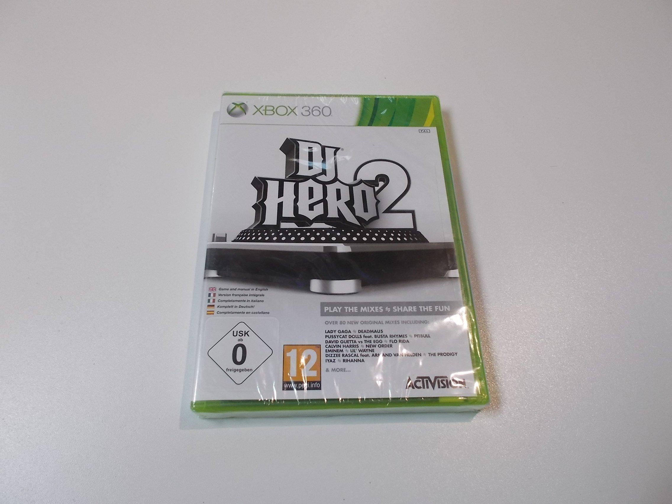 DJ Hero 2 - GRA Xbox 360 - Sklep
