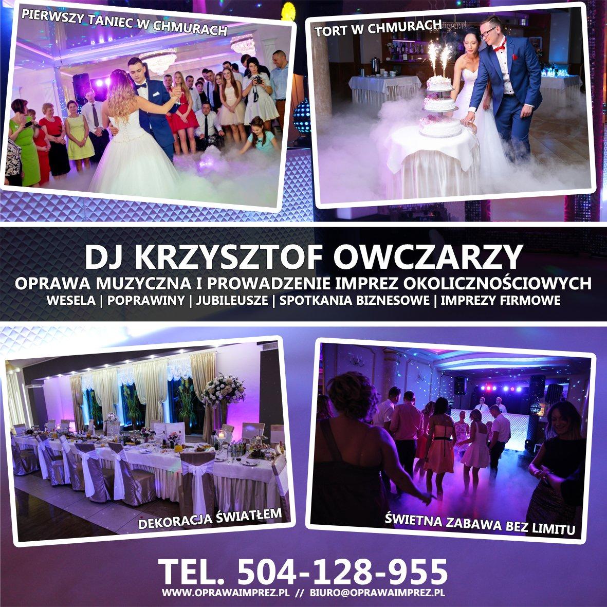 DJ Krzysztof Owczarzy - dobry wybór na Twoje wesele!