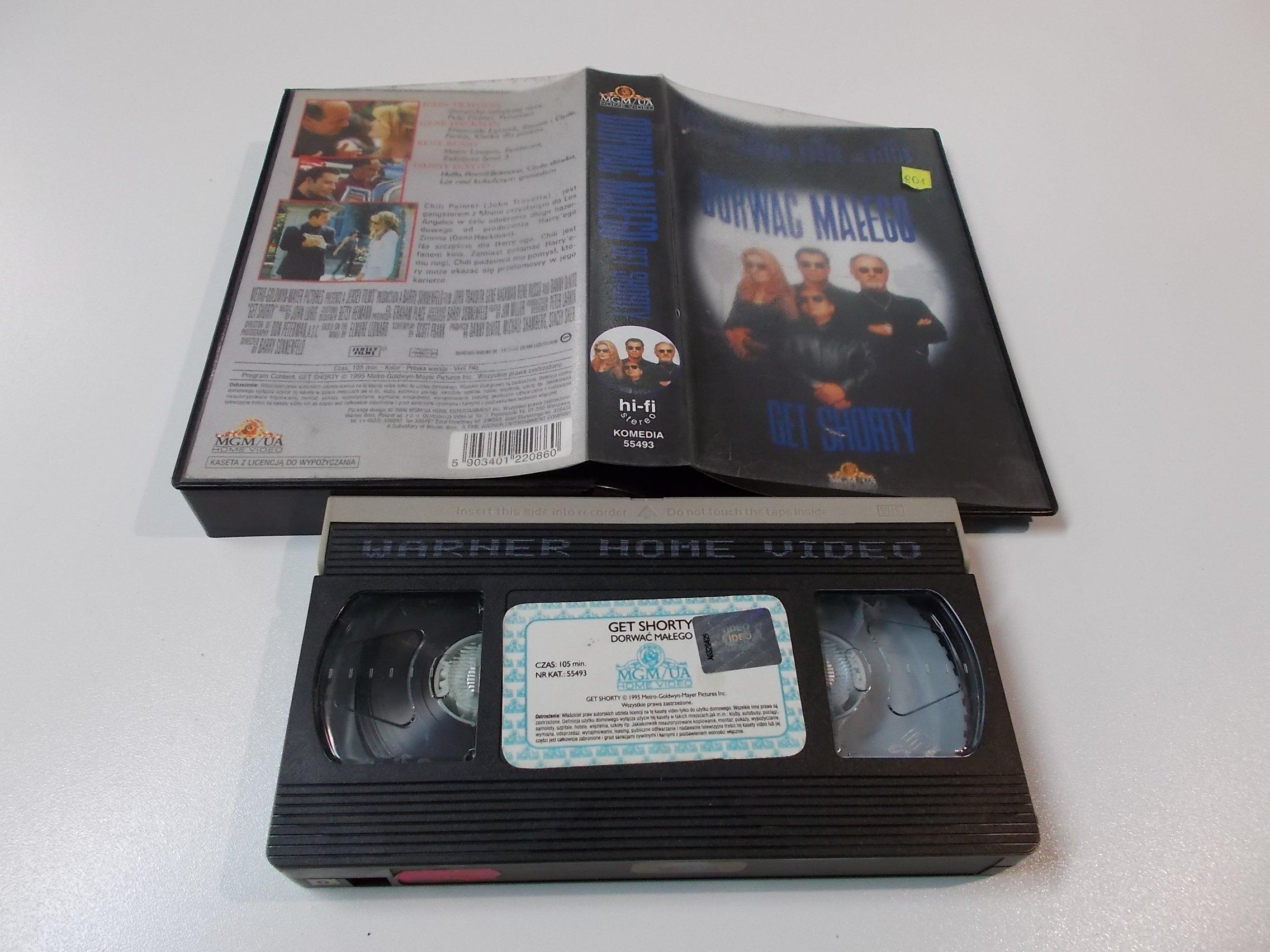 DORWAĆ MAŁEGO - Kaseta Video VHS - Opole 1512