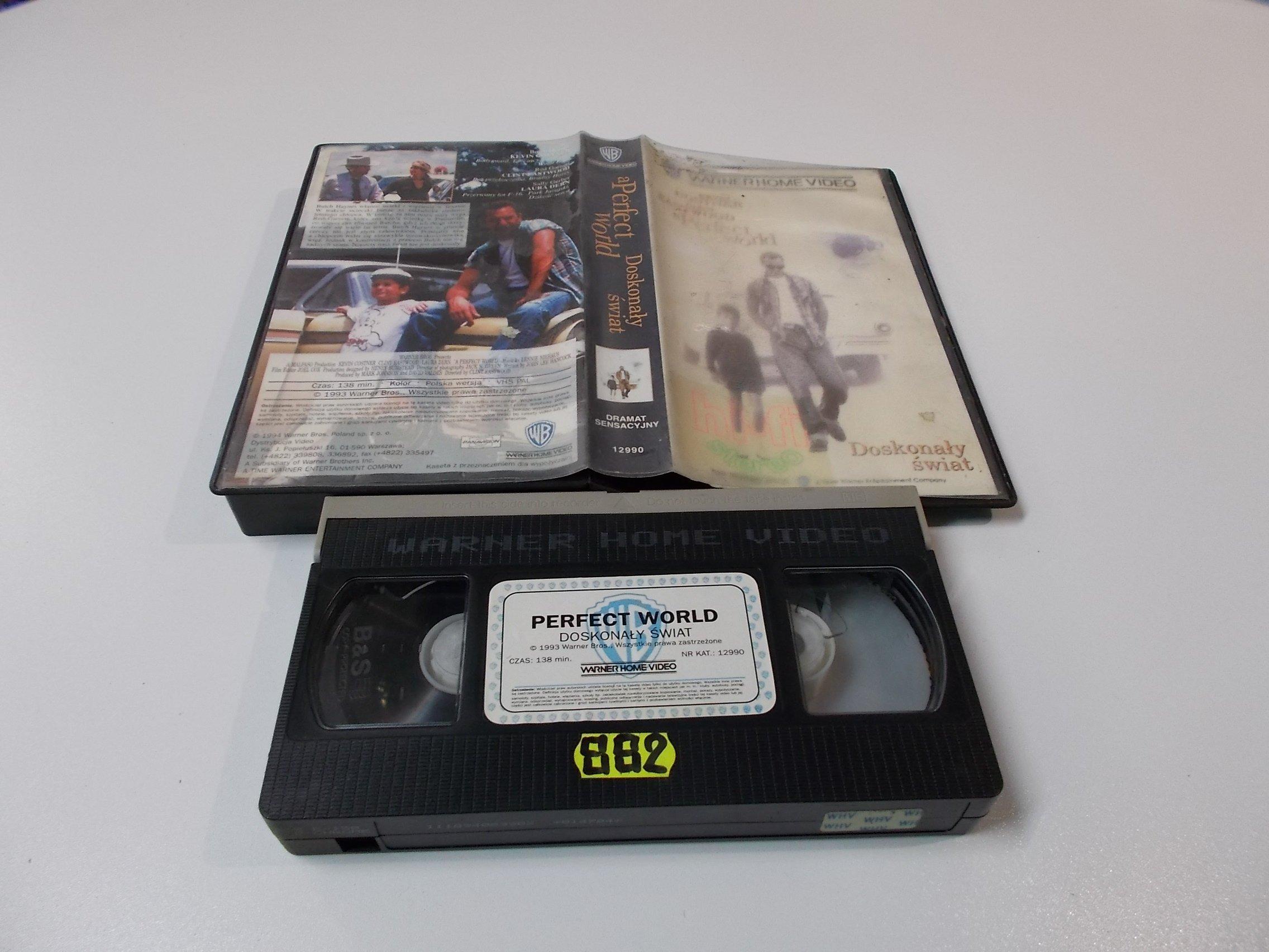 DOSKONAŁY ŚWIAT - VHS Kaseta Video - Opole 1611