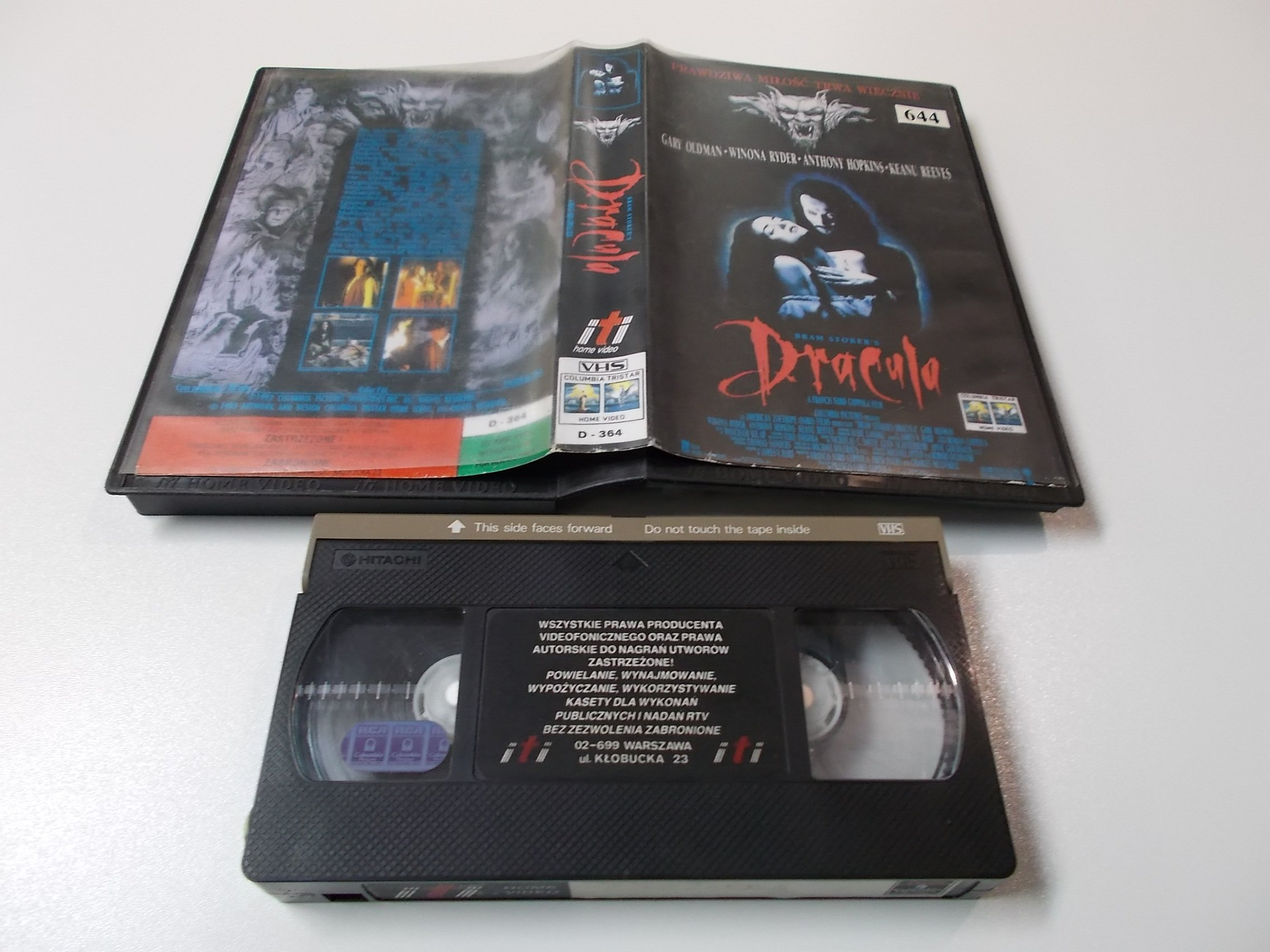 DRACULA - kaseta Video VHS - 1415 Sklep