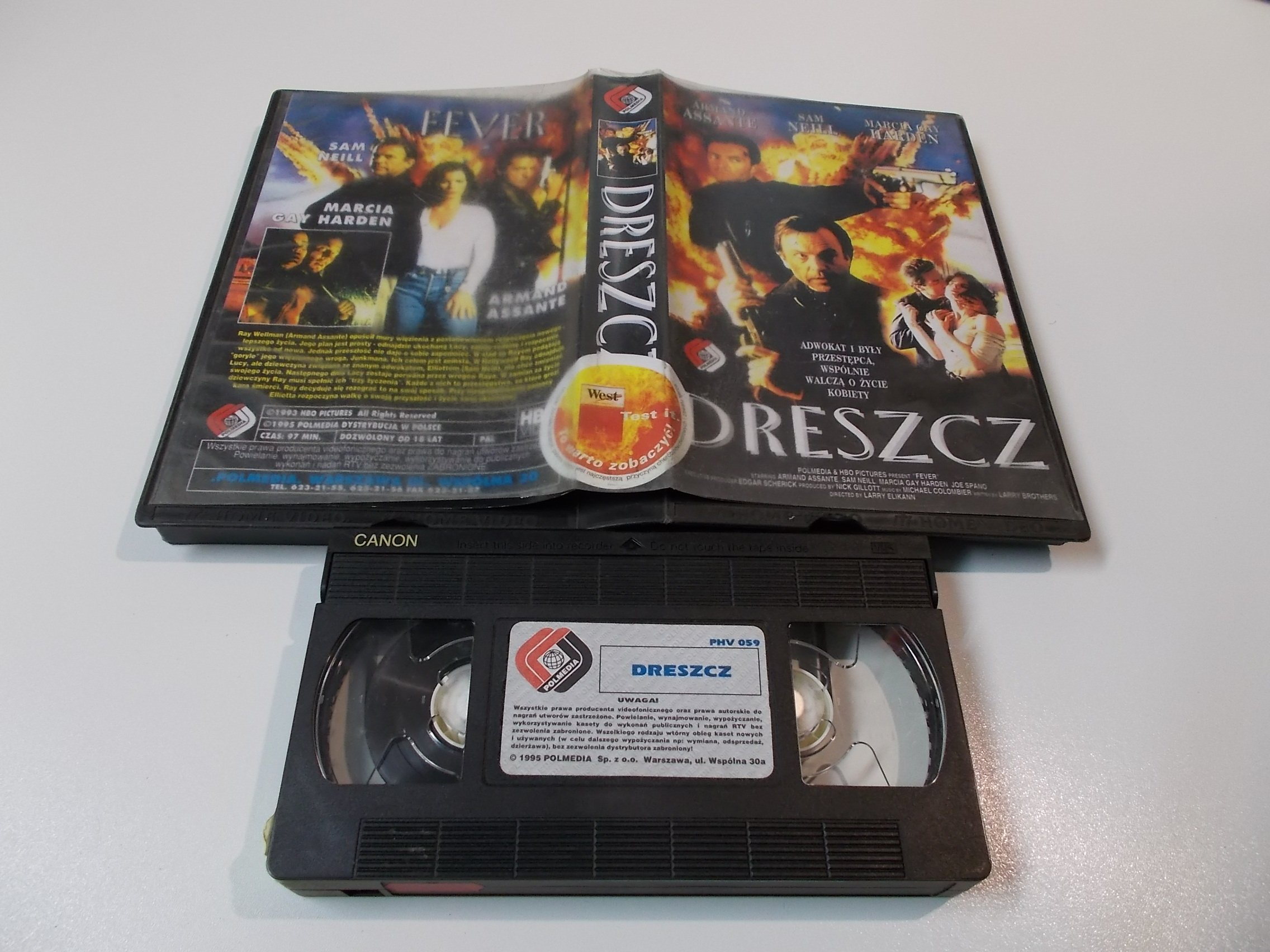 DRESZCZ - kaseta Video VHS - 1437 Sklep