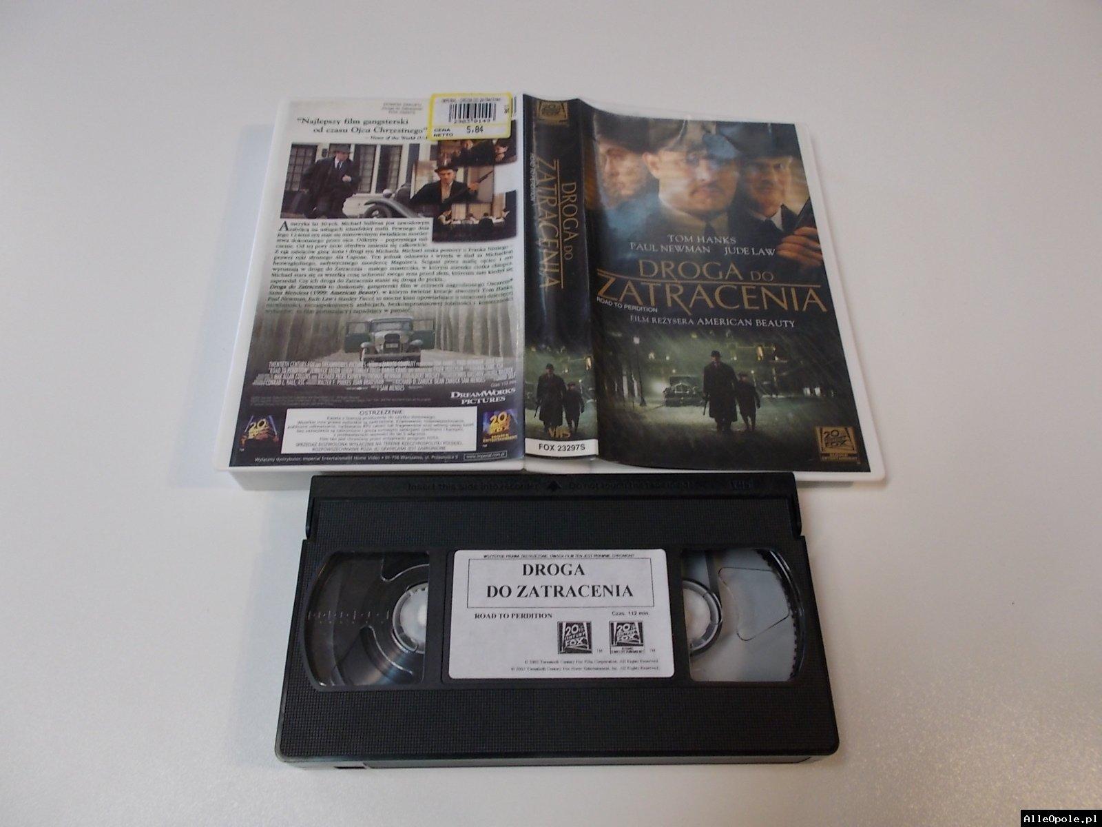 DROGA DO ZATRACENIA - VHS Kaseta Video - Opole 1716