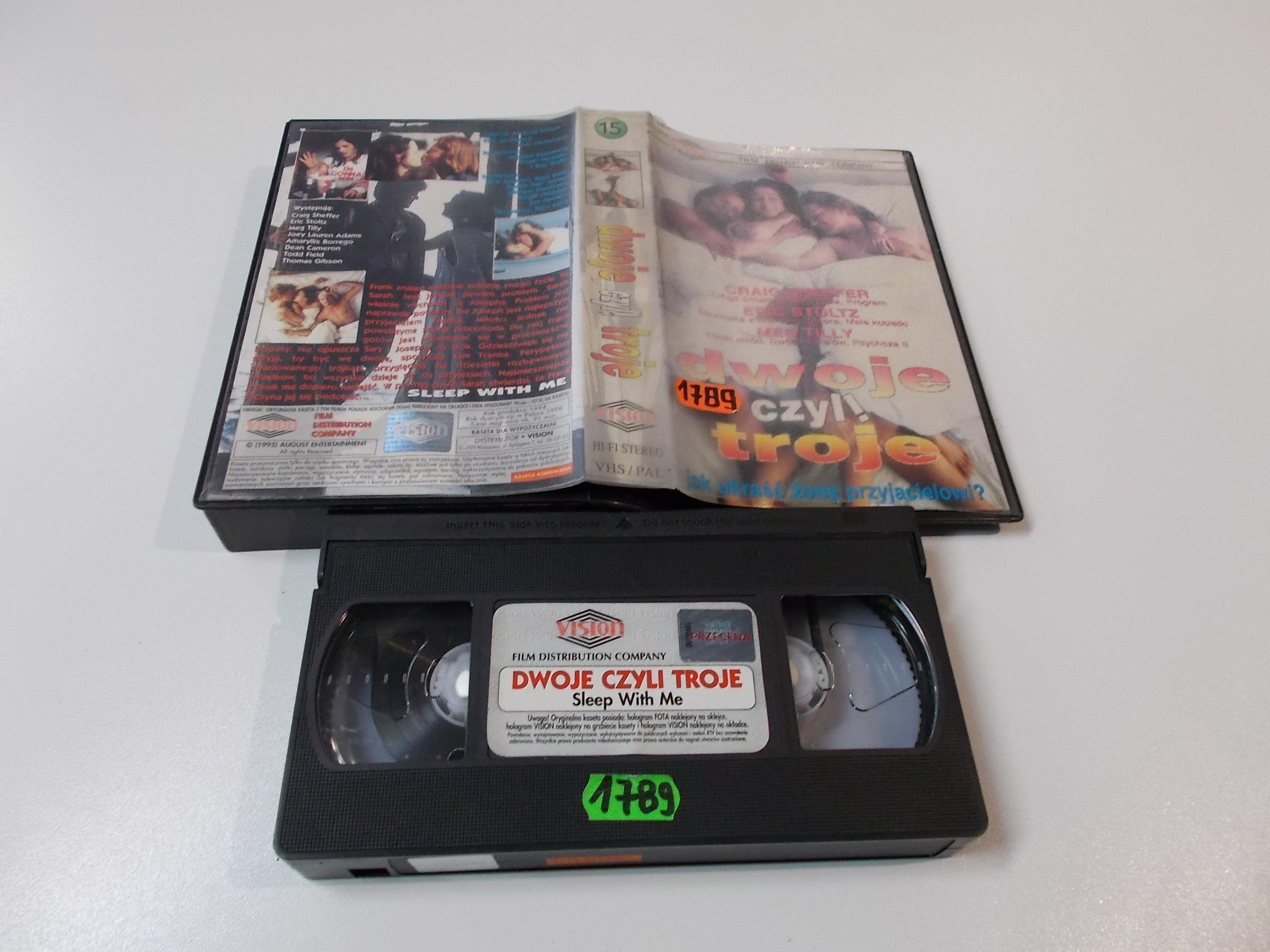 DWOJE CZYLI TROJE - Kaseta Video VHS - Opole 1521