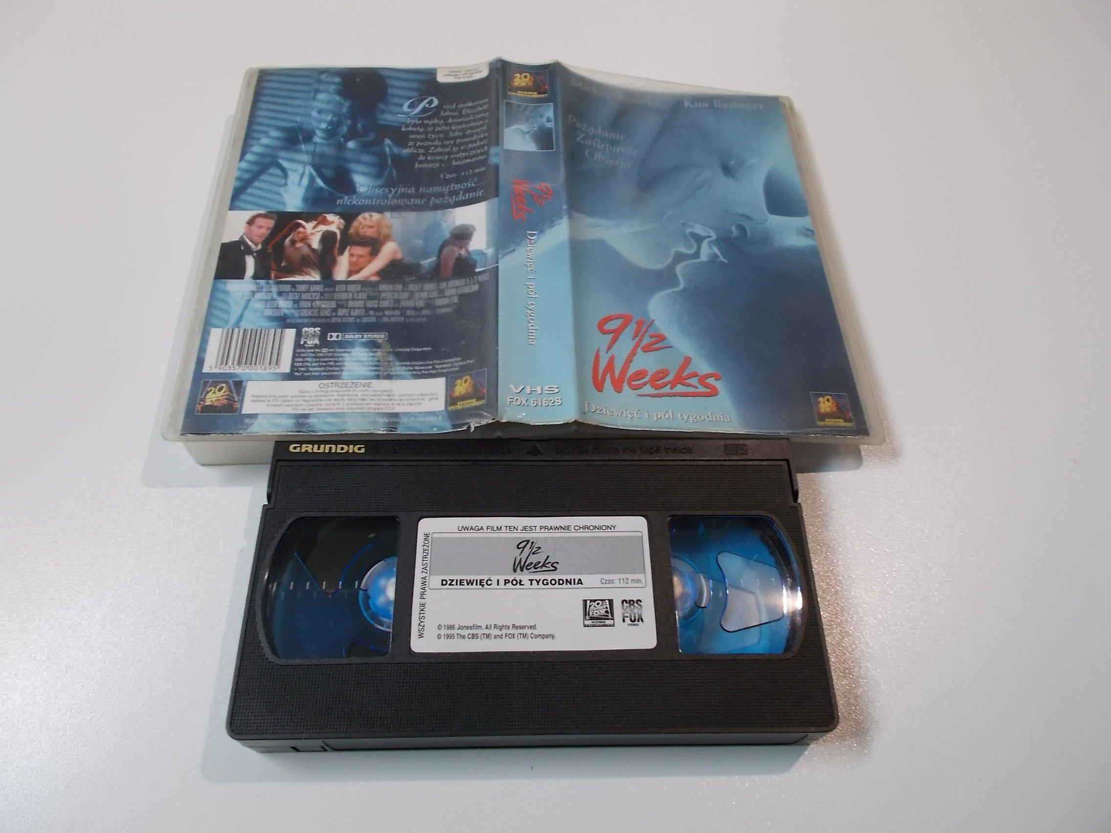 DZIEWIĘĆ I PÓŁ TYGODNIA - Kaseta Video VHS - 1472 Opole - AlleOpole.pl