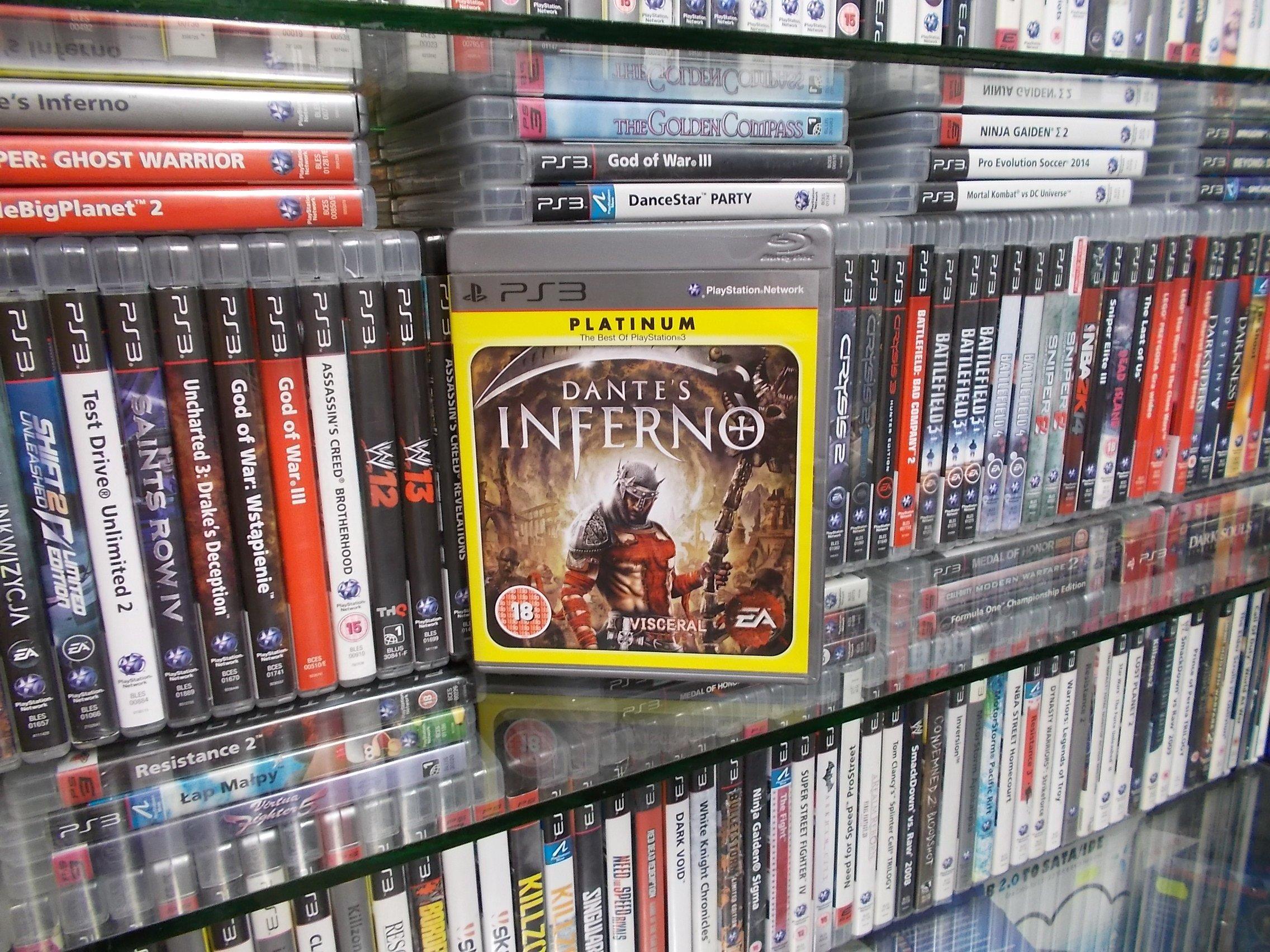 Dantes Inferno - GRA PS3 - Sklep